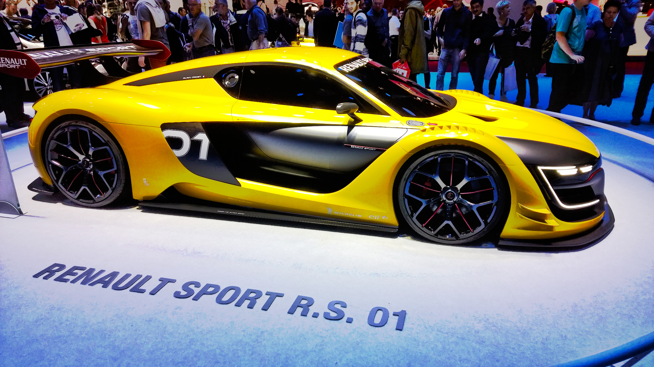 Renault R.S.01 - 2014 - Mondial de l'Automobile - Paris - photo by ELJ DESIGNMOTEUR