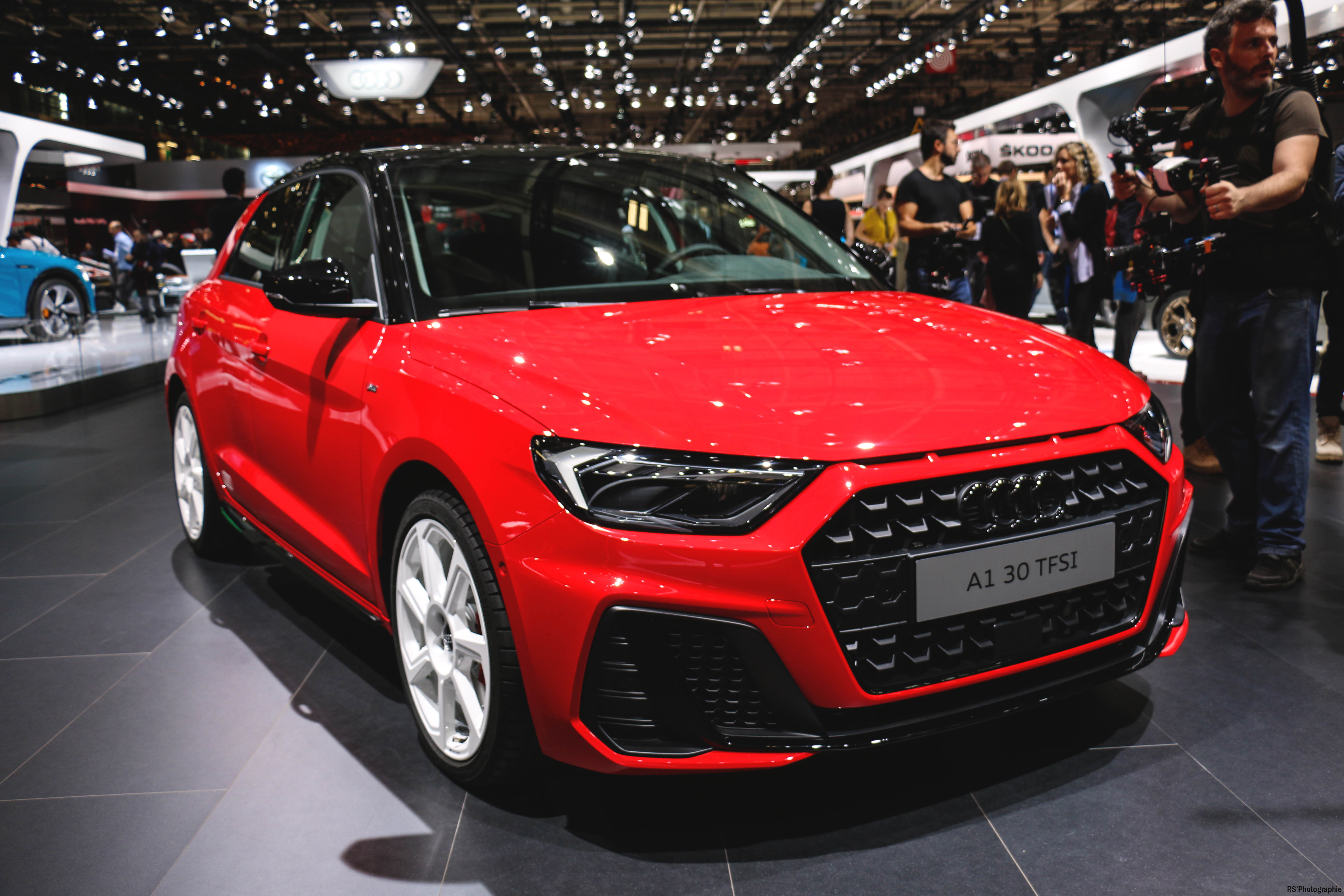 Audi A1 - front - Paris Motor Show - 2018 - Mondial Auto - photo by Arnaud Demasier RS Photographie