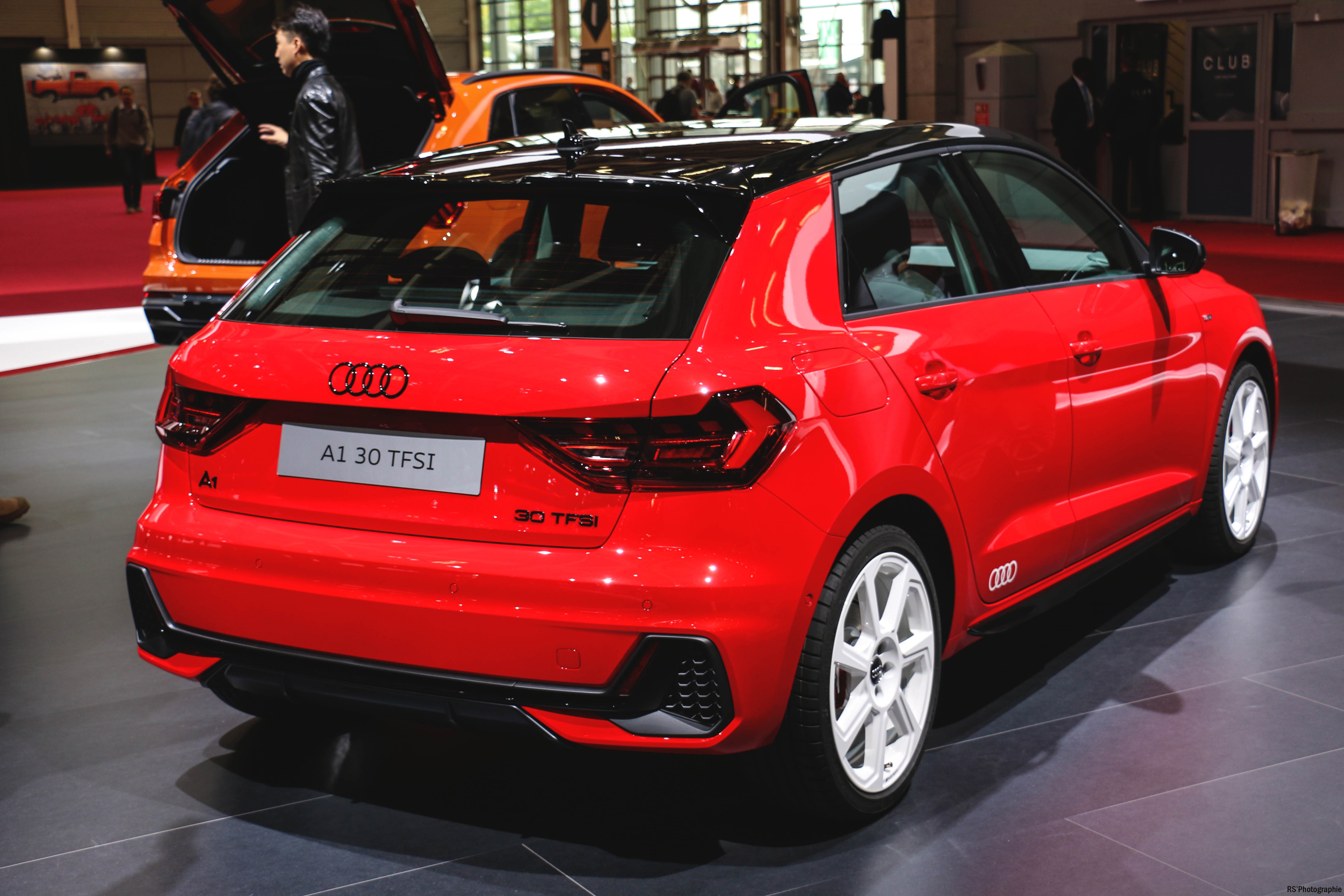 Audi A1 - rear - Paris Motor Show - 2018 - Mondial Auto - photo by Arnaud Demasier RS Photographie