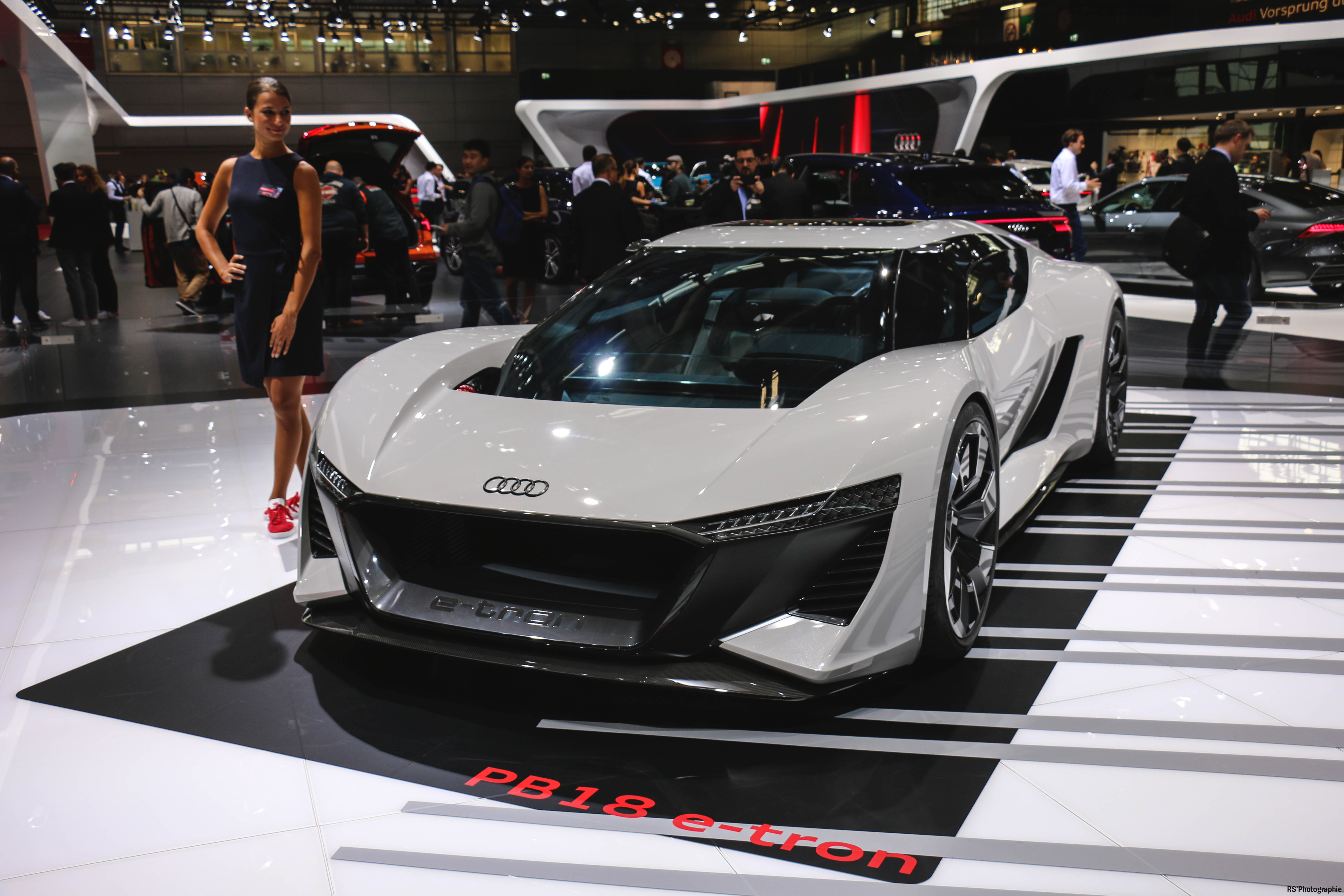 Audi PB18 e-tron - front - Paris Motor Show - 2018 - Mondial Auto - photo by Arnaud Demasier RS Photographie