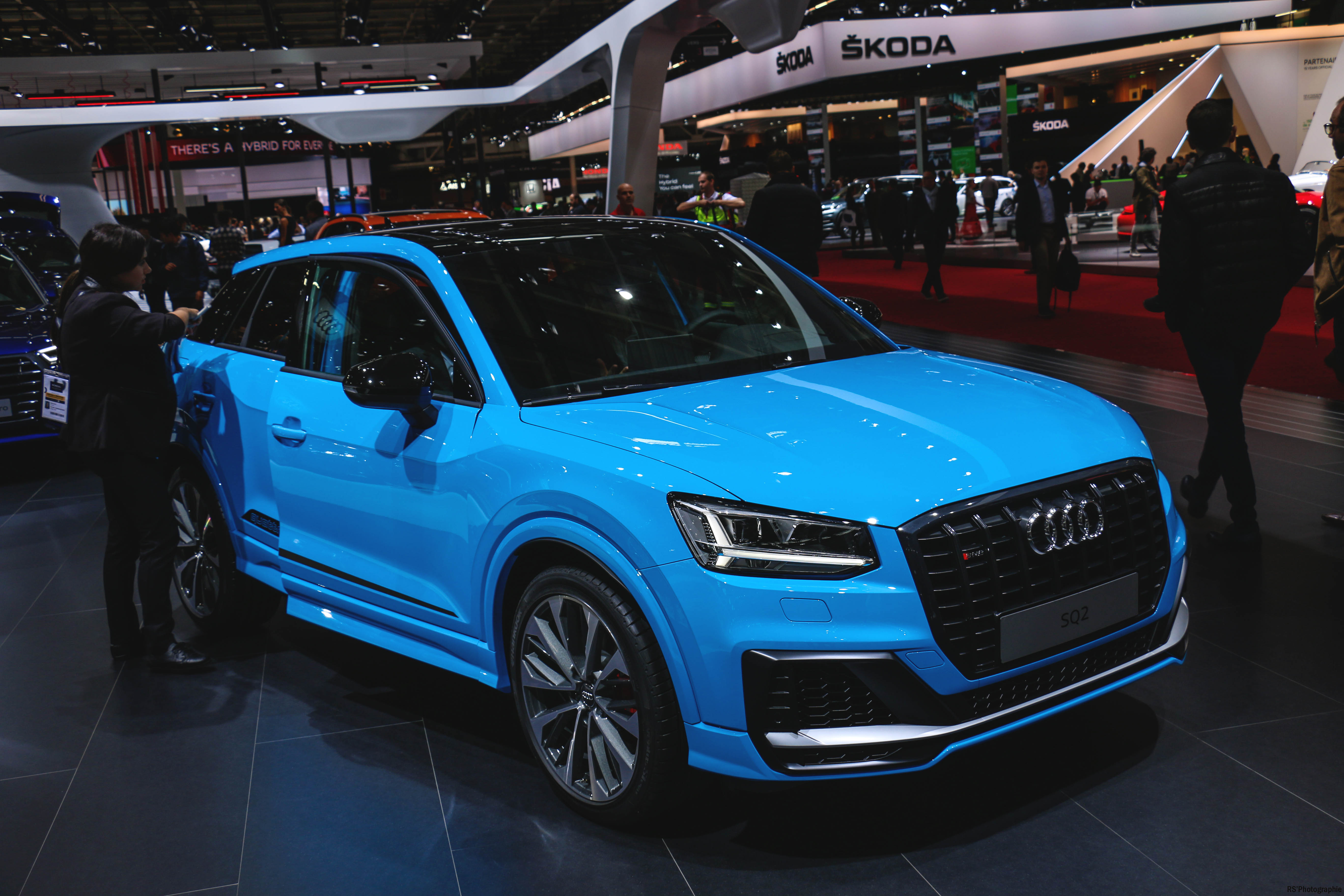 Audi SQ2 - front - Paris Motor Show - 2018 - Mondial Auto - photo by Arnaud Demasier RS Photographie