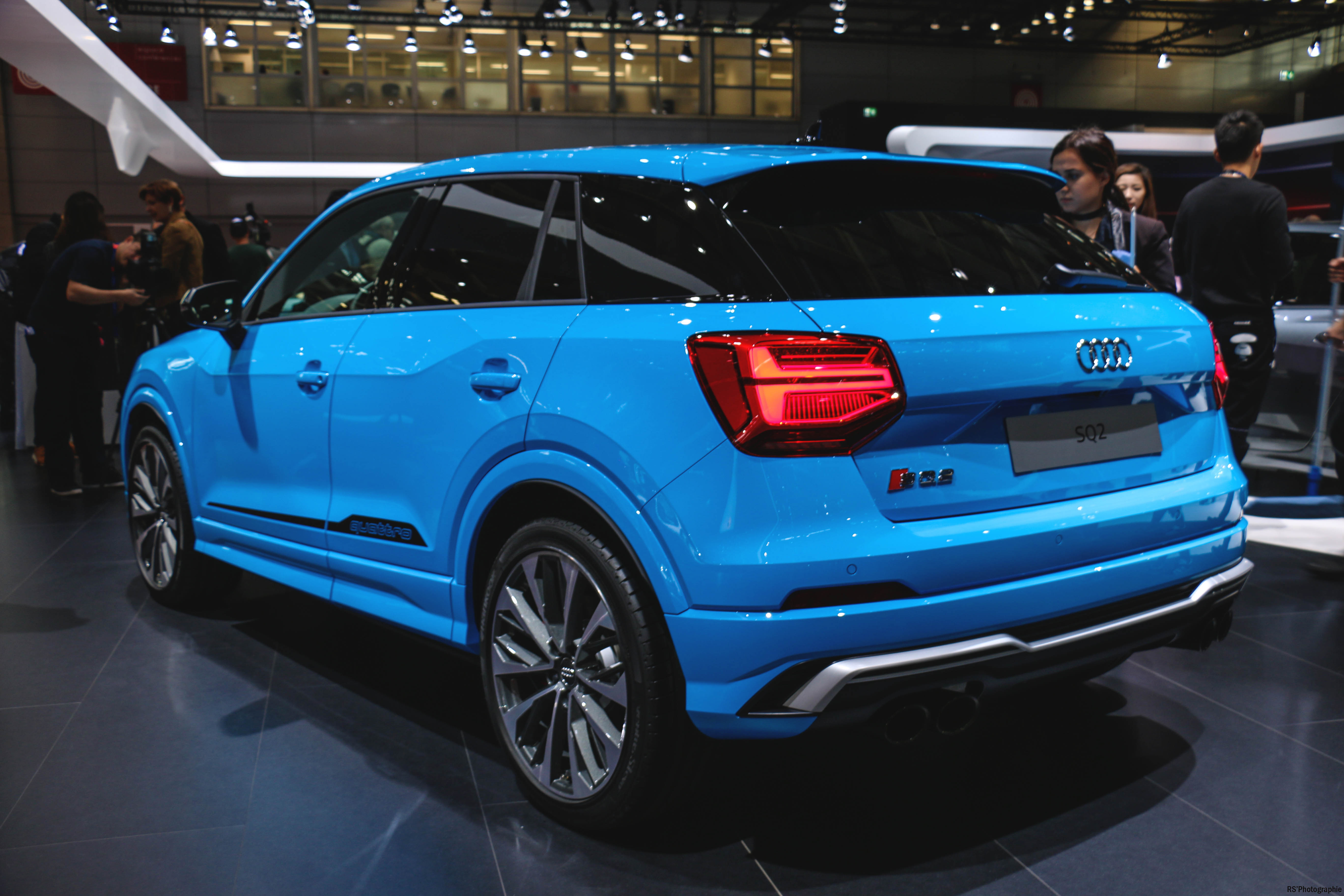 Audi SQ2 - rear - Paris Motor Show - 2018 - Mondial Auto - photo by Arnaud Demasier RS Photographie