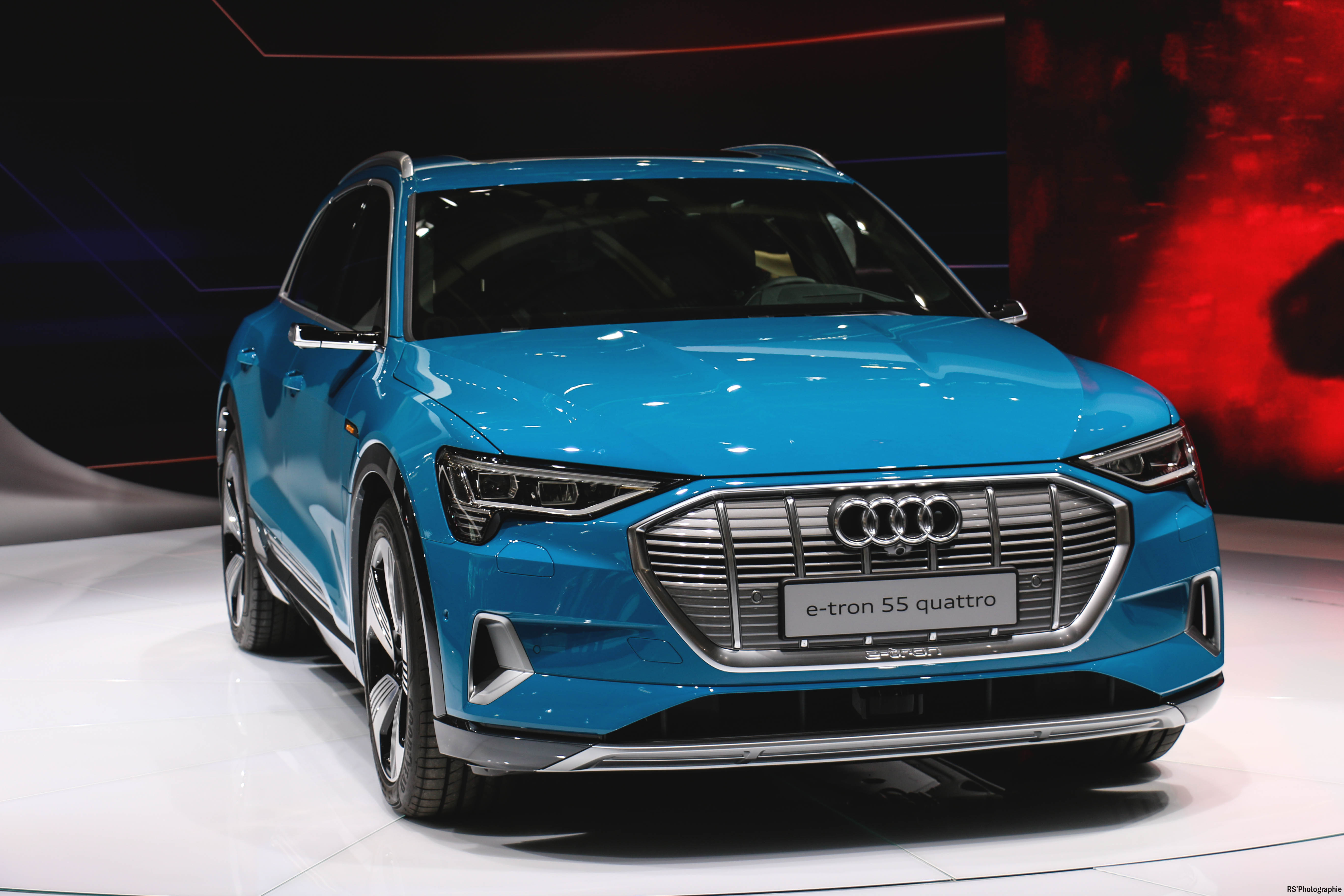 Audi e-tron quattro - front - Paris Motor Show - 2018 - Mondial Auto - photo by Arnaud Demasier RS Photographie