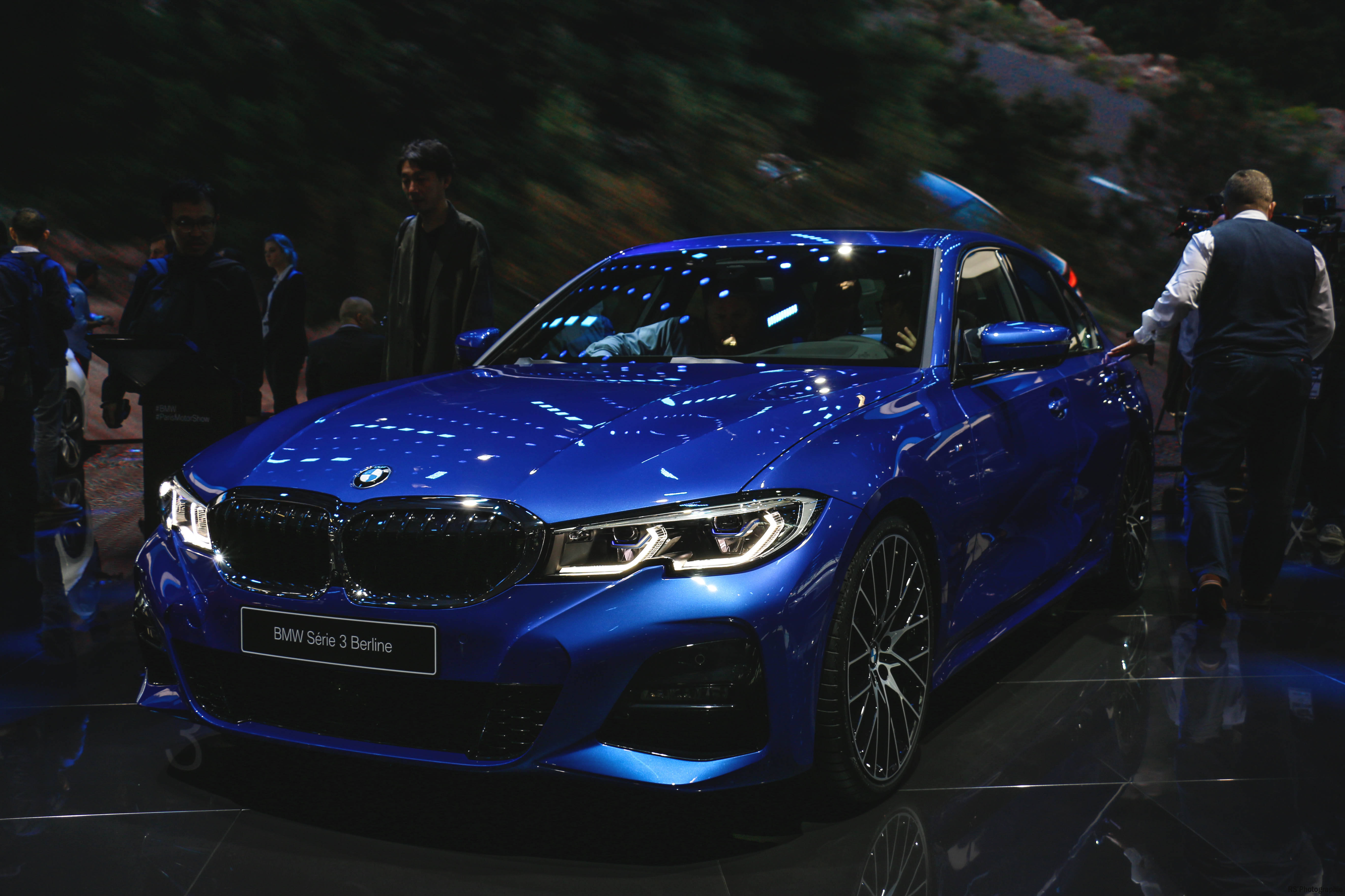 BMW Serie3 Berline - Paris Motor Show - 2018 - Mondial Auto - photo by Arnaud Demasier RS Photographie