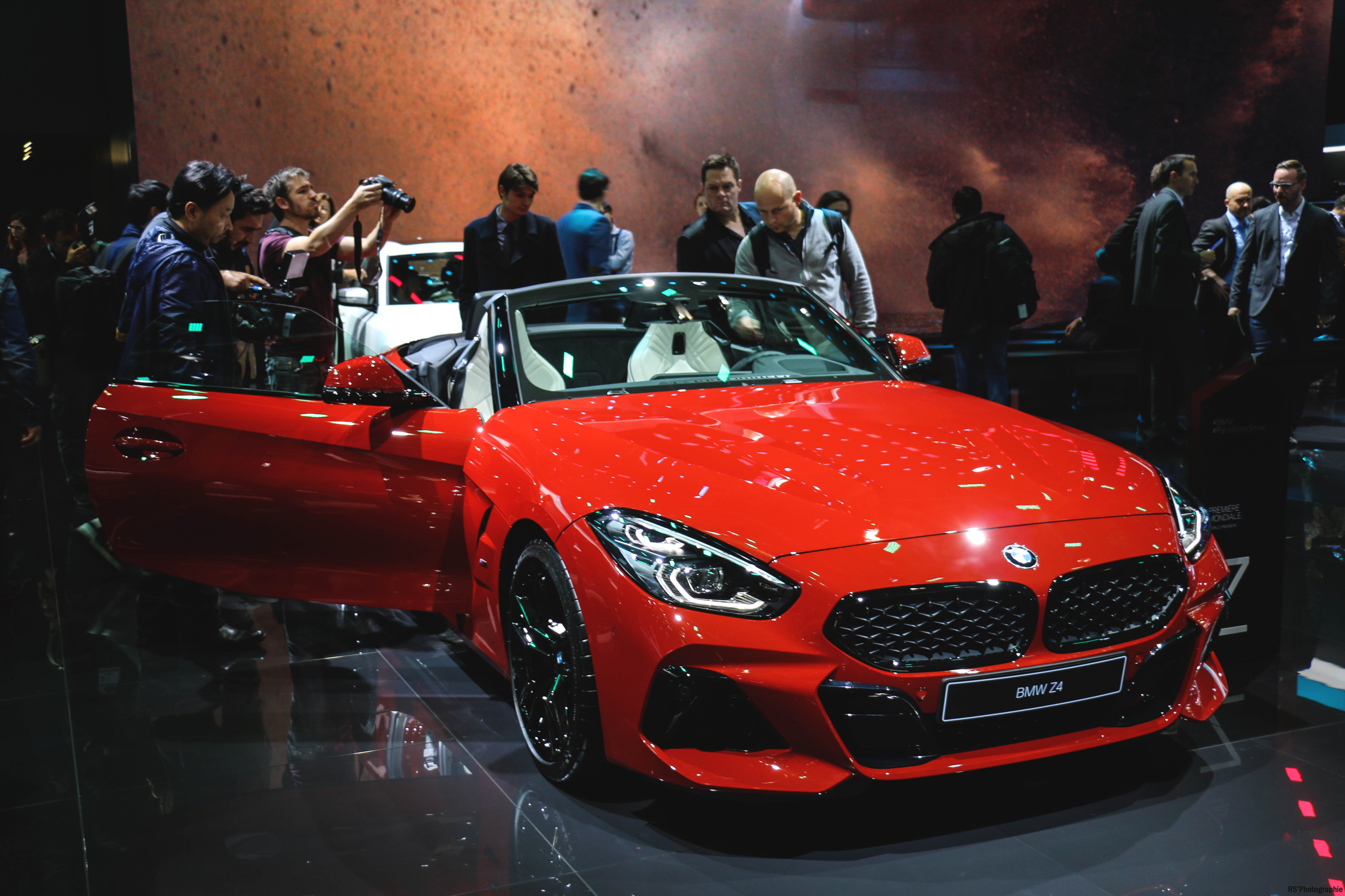 BMW Z4 - front - Paris Motor Show - 2018 - Mondial Auto - photo by Arnaud Demasier RS Photographie