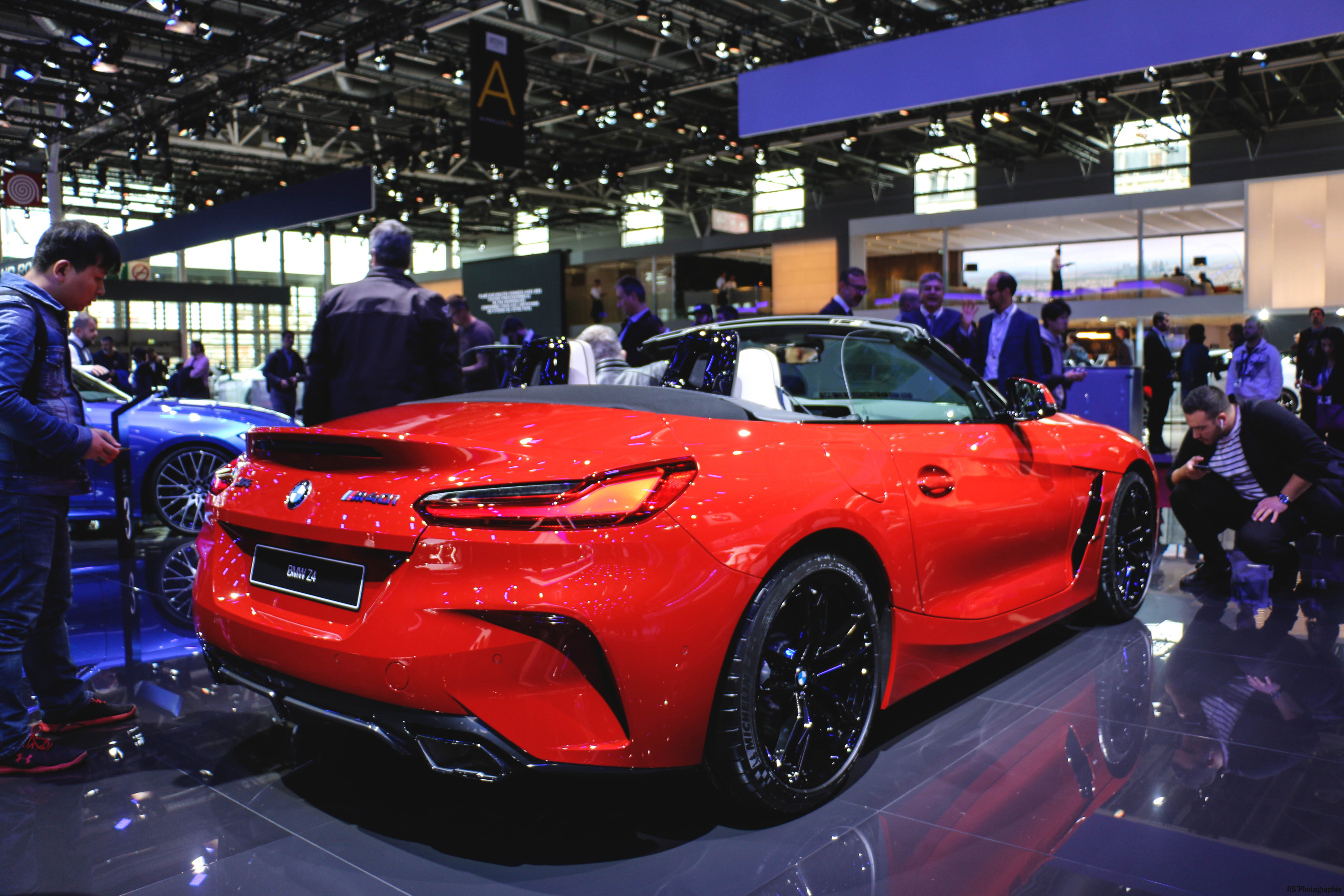 BMW Z4 - rear - Paris Motor Show - 2018 - Mondial Auto - photo by Arnaud Demasier RS Photographie