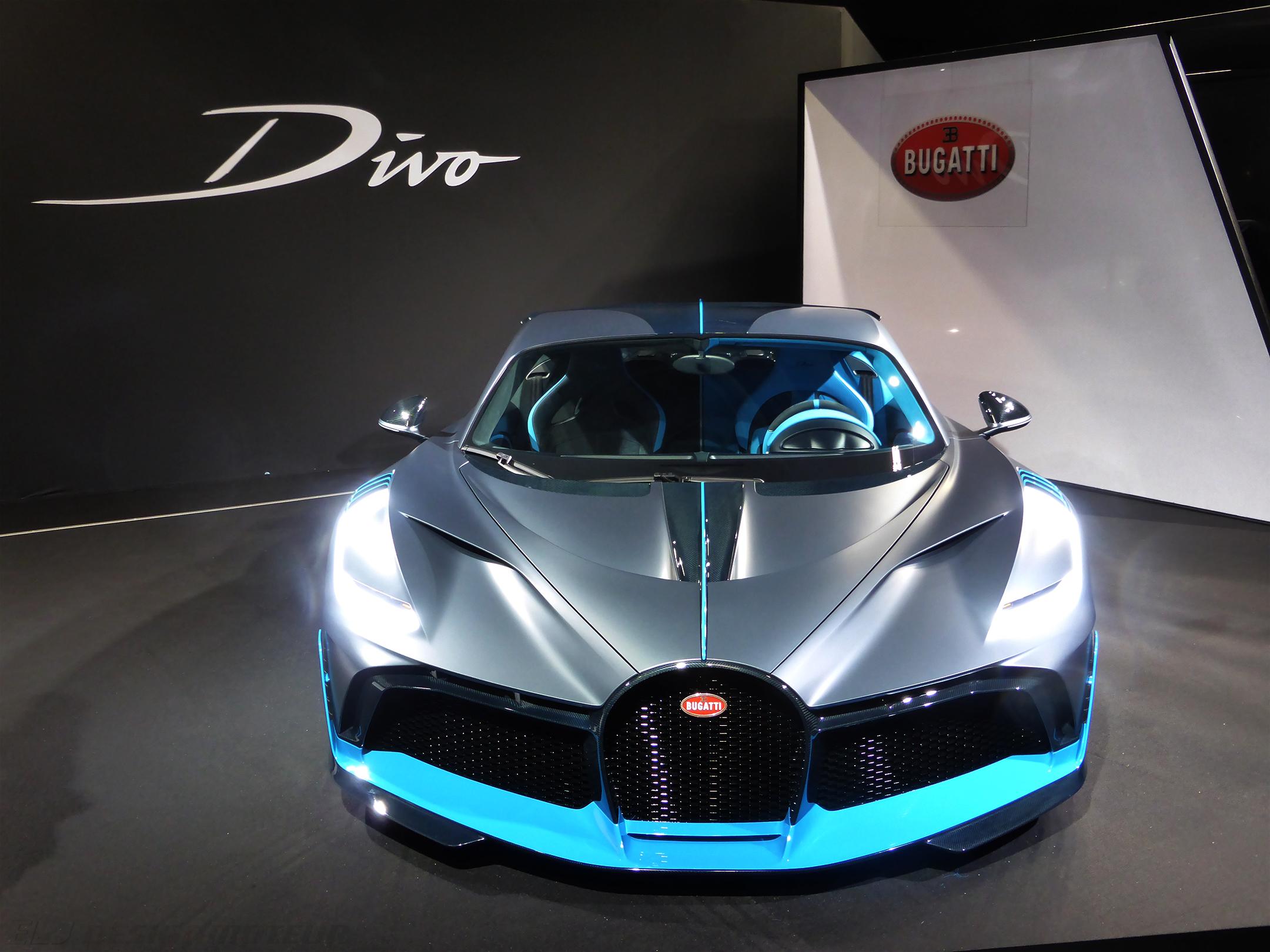 Bugatti Divo - front face - Paris Motor Show - 2018 - Mondial Auto - photo ELJ DESIGNMOTEURBugatti Divo - front face - Paris Motor Show - 2018 - Mondial Auto - photo ELJ DESIGNMOTEUR