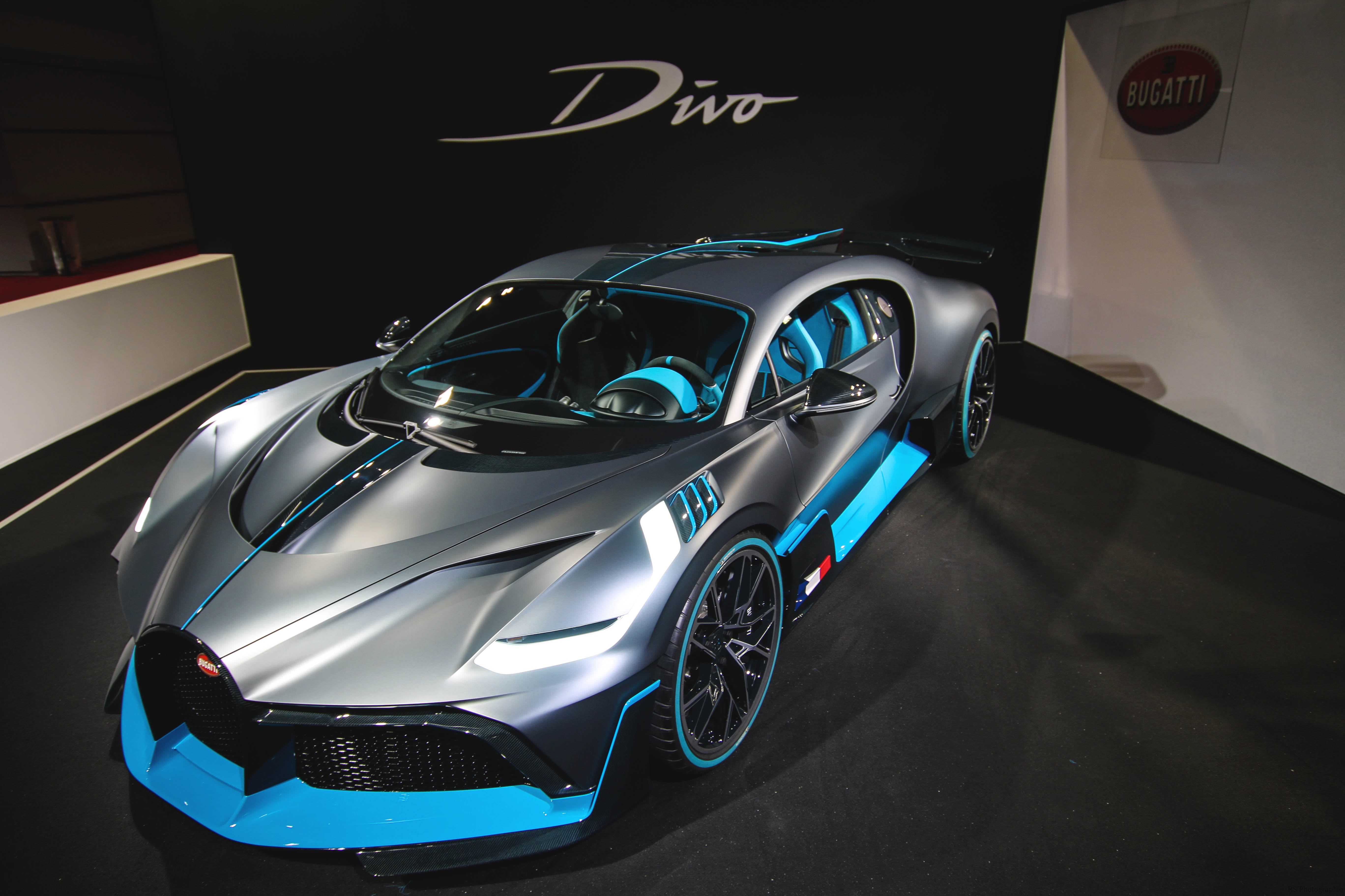 Bugatti Divo - front top - Paris Motor Show - 2018 - Mondial Auto - photo by Arnaud Demasier RS Photographie