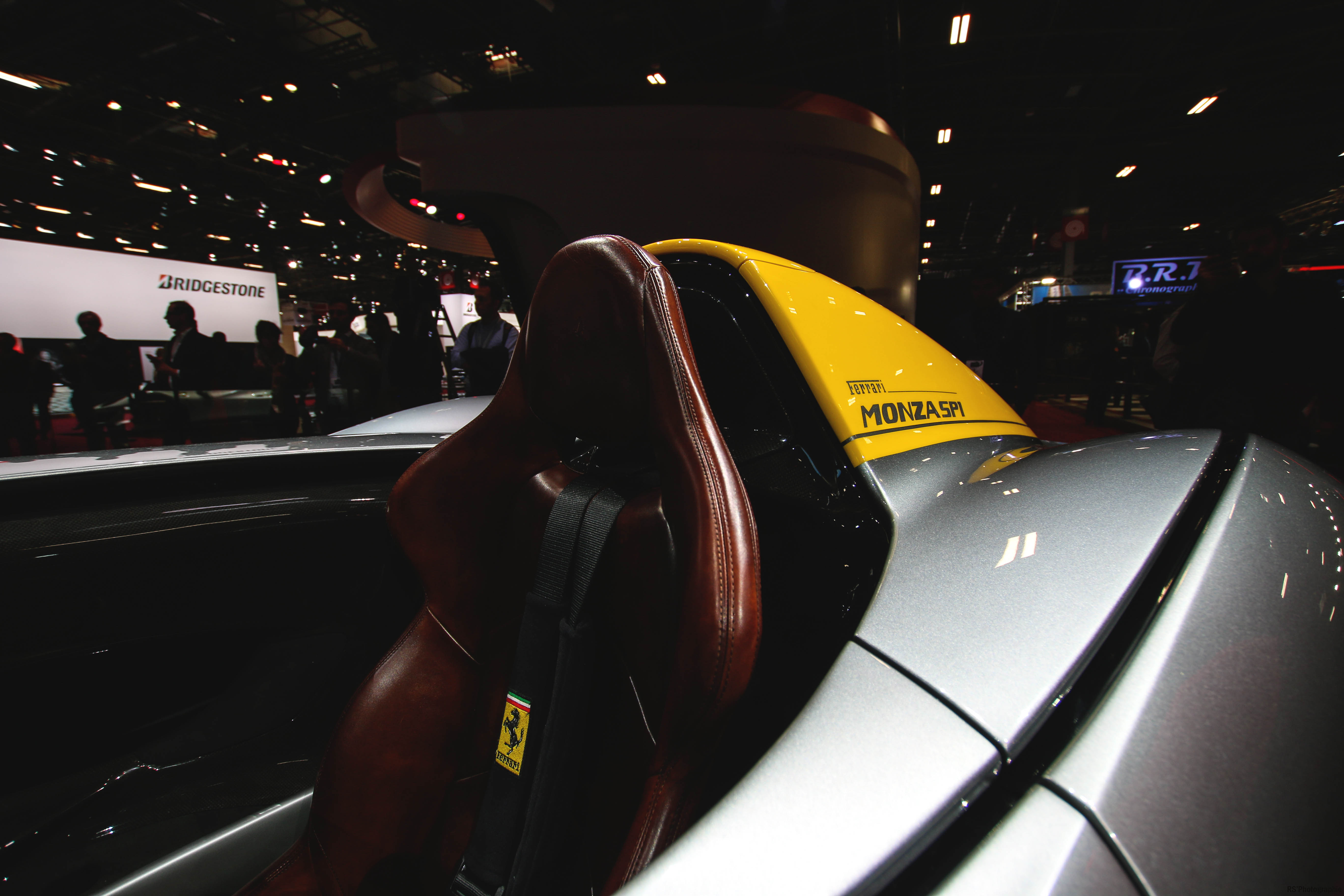 Ferrari Monza SP1 - seat - Paris Motor Show - 2018 - Mondial Auto - photo by Arnaud Demasier RS Photographie