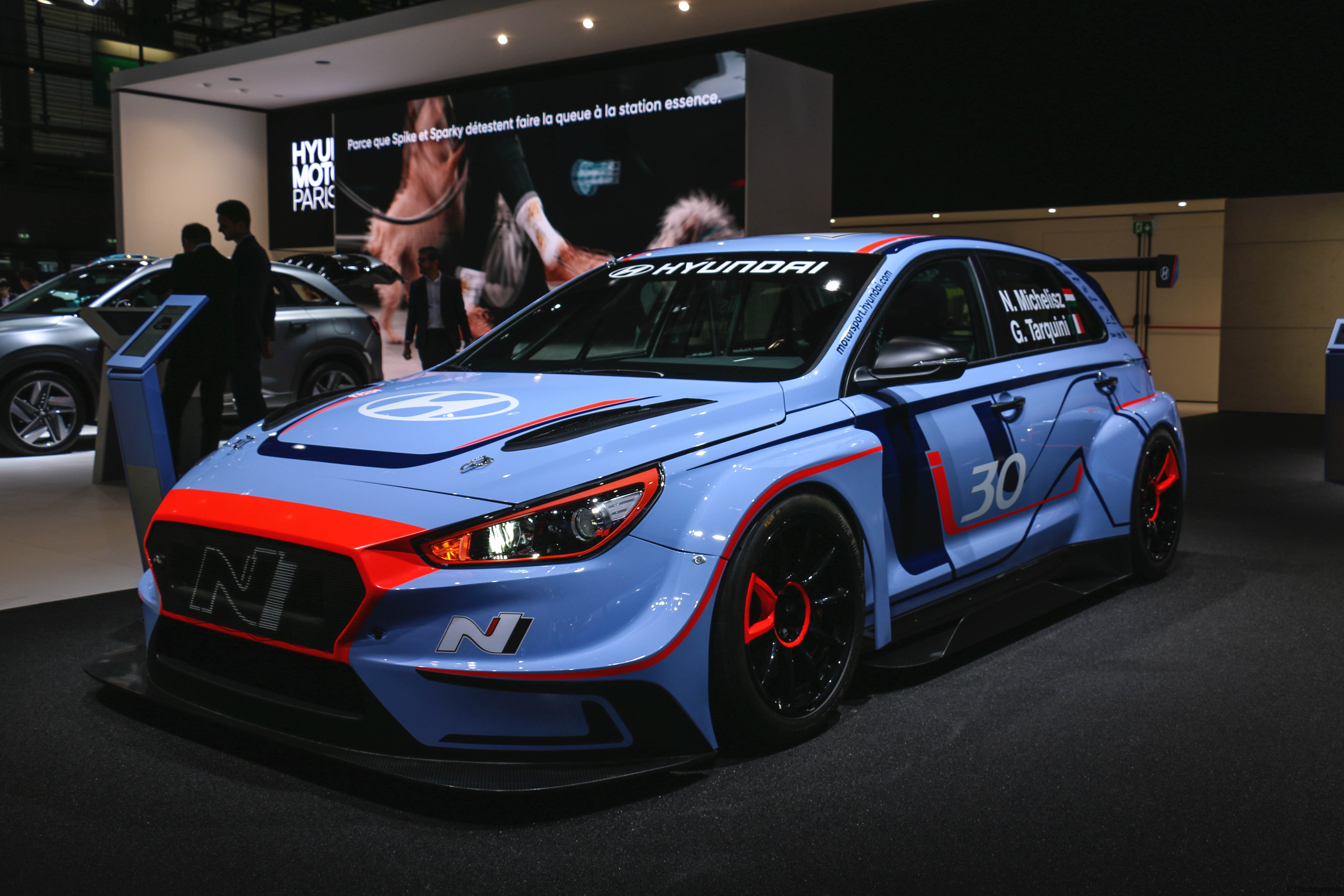 Hyundai Motorsport i30 N TCR - Paris Motor Show - 2018 - Mondial Auto - photo by Arnaud Demasier RS Photographie