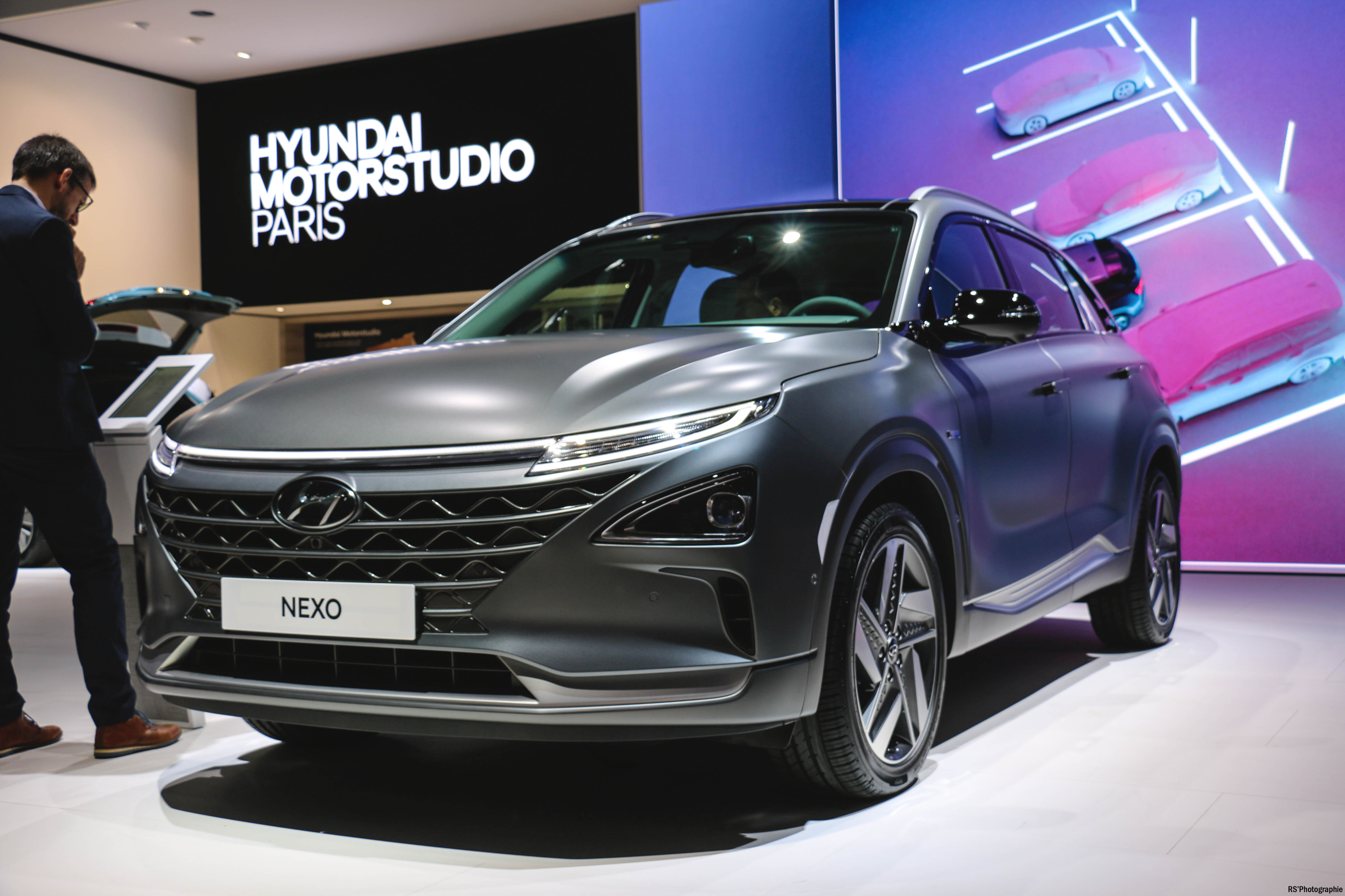 Hyundai Nexo - Paris Motor Show - 2018 - Mondial Auto - photo by Arnaud Demasier RS Photographie