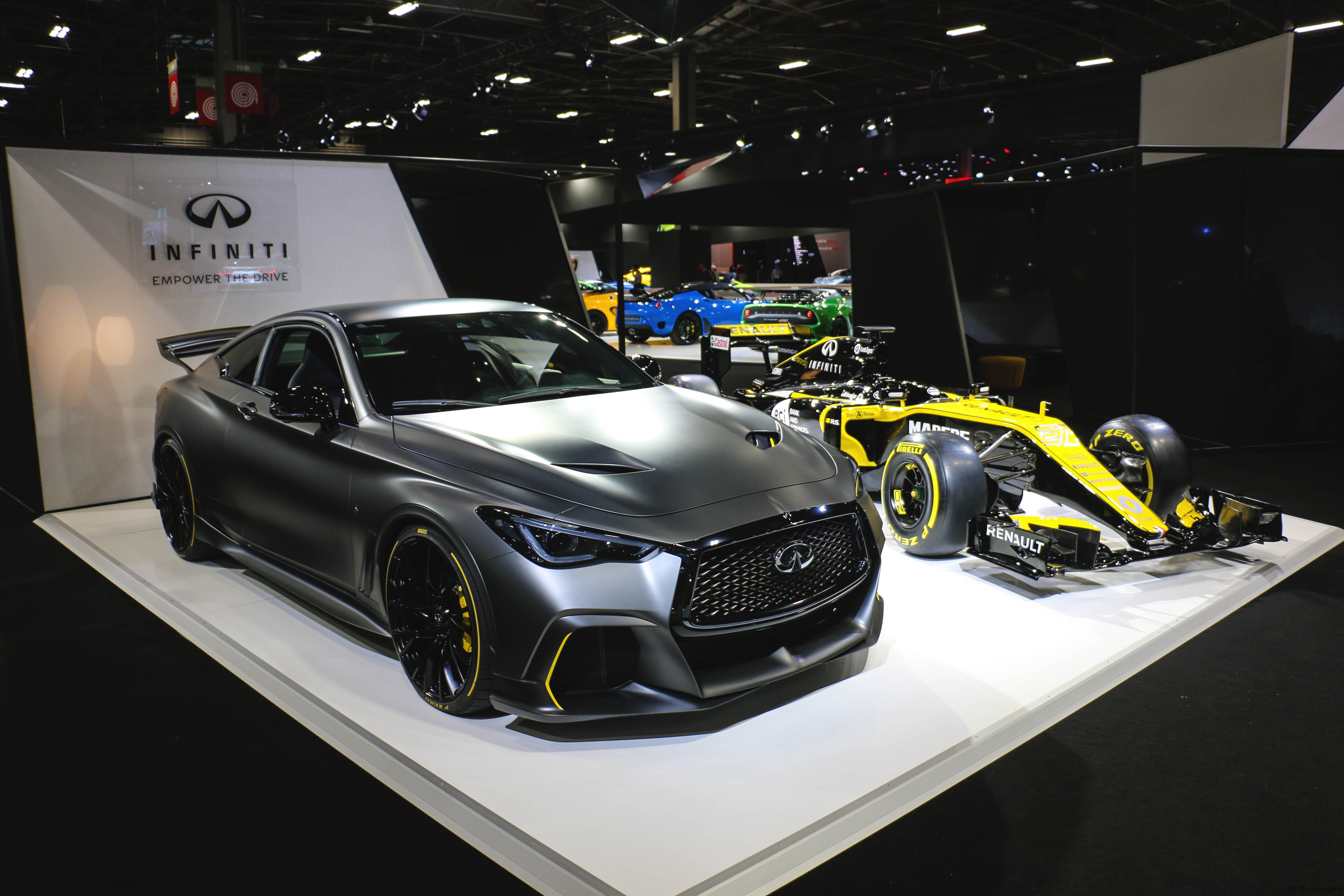 Infiniti Q60 Project Black S - Paris Motor Show - 2018 - Mondial Auto - photo by Arnaud Demasier RS Photographie