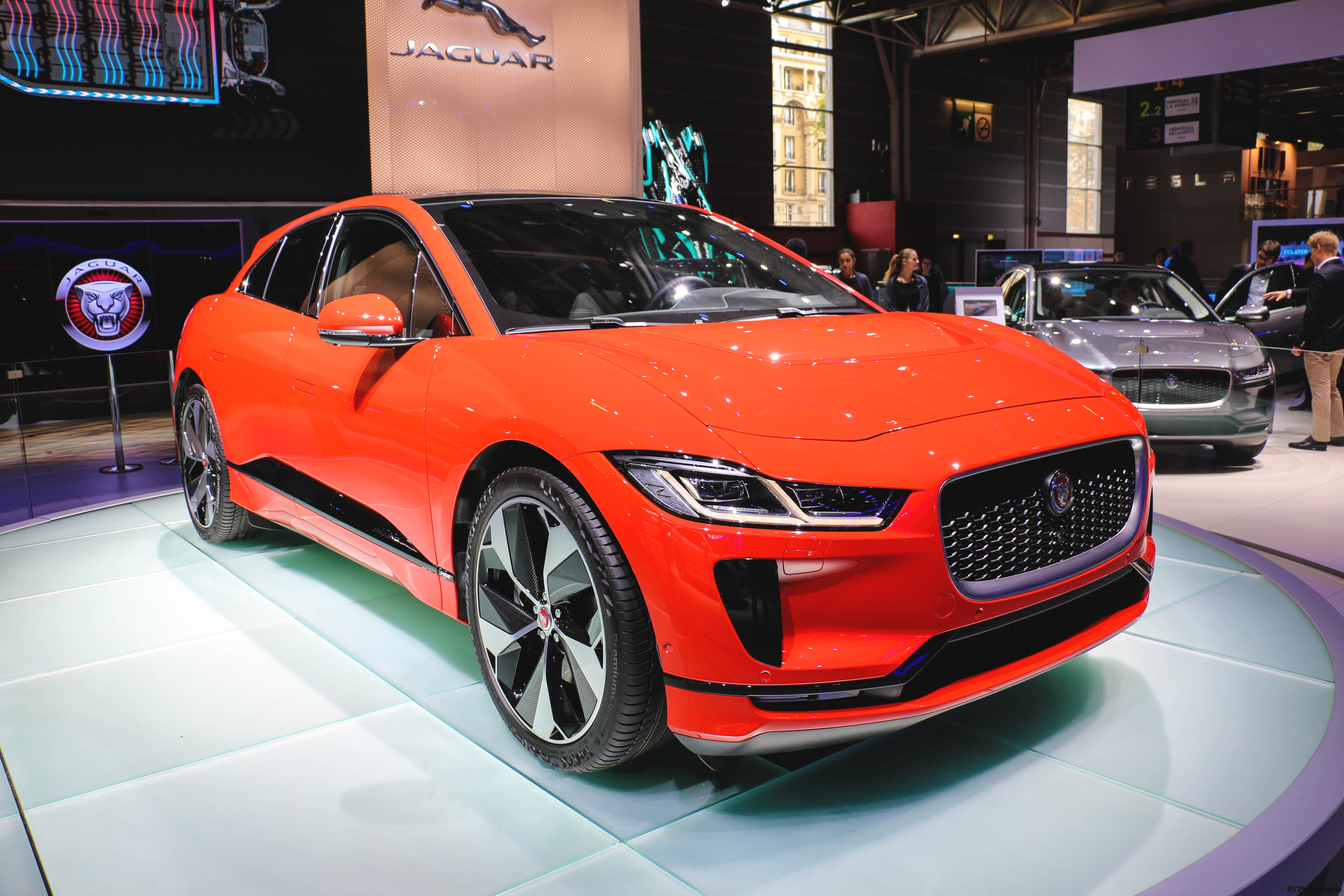 Jaguar I-PACE - Paris Motor Show - 2018 - Mondial Auto - photo by Arnaud Demasier RS Photographie
