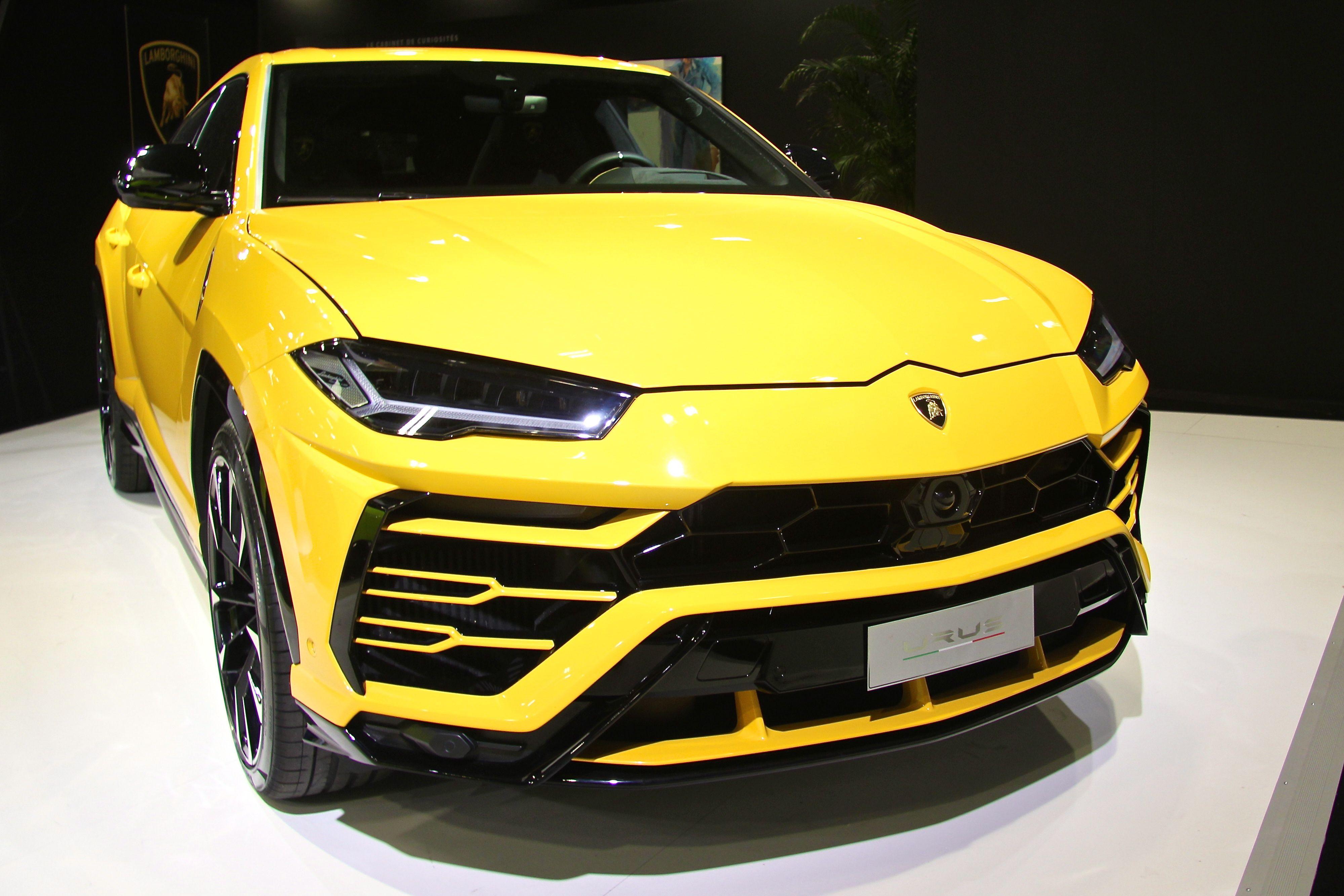 Lamborghini Urus - Paris Motor Show - 2018 - Mondial Auto - photo Ludo Ferrari