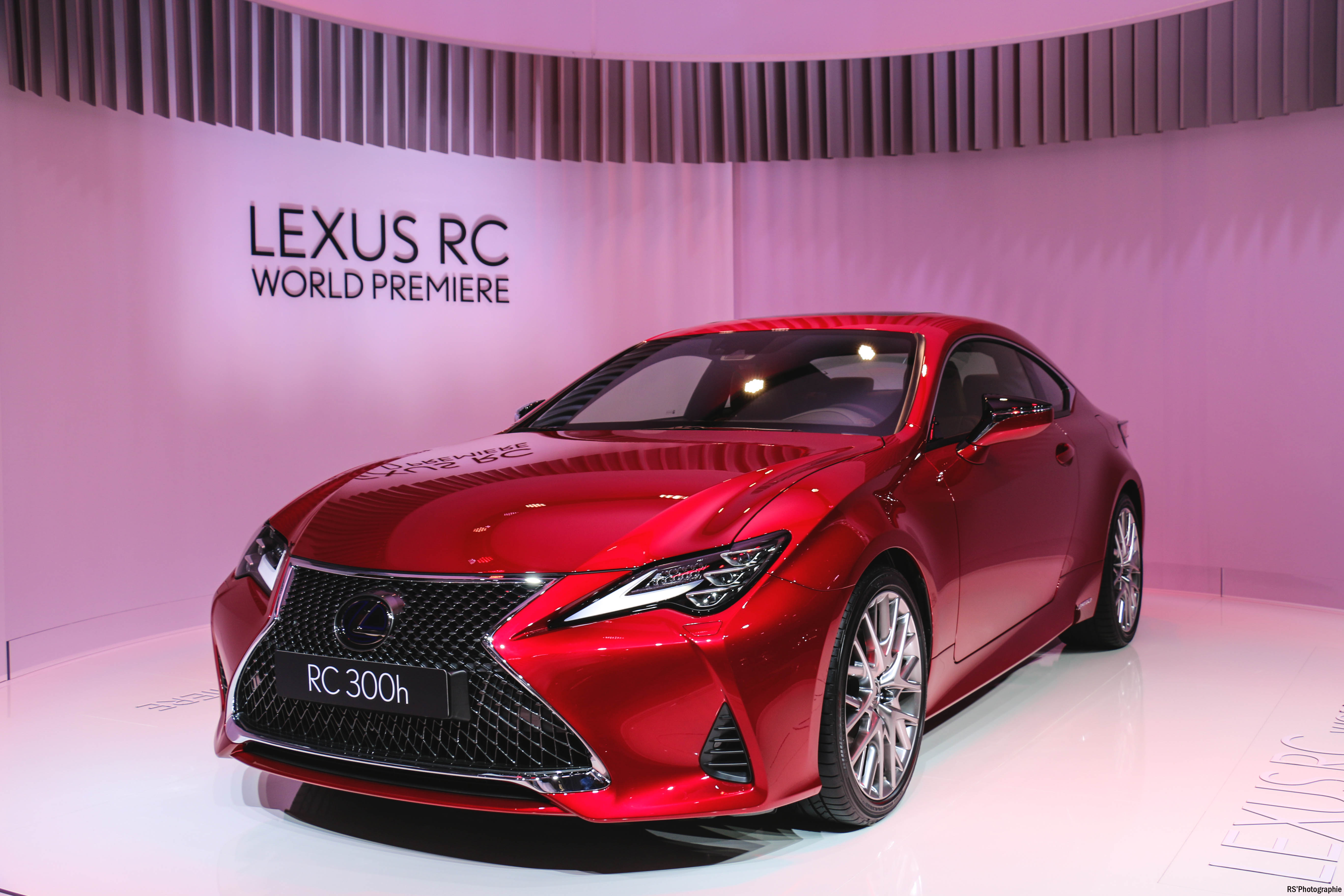 Lexus RC 300h - front - Paris Motor Show - 2018 - Mondial Auto - photo by Arnaud Demasier RS Photographie