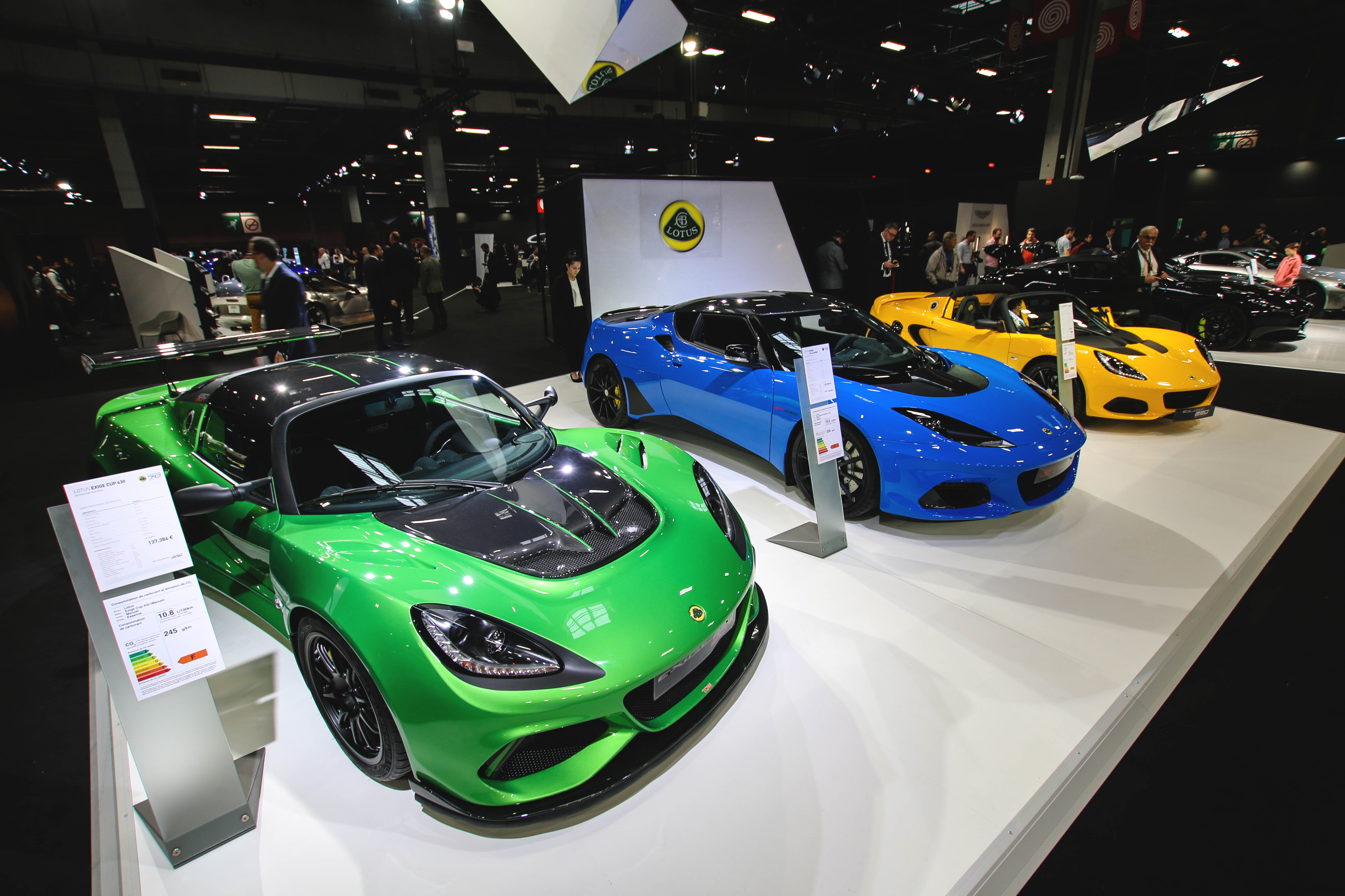 Lotus Cars - Paris Motor Show - 2018 - Mondial Auto - photo by Arnaud Demasier RS Photographie