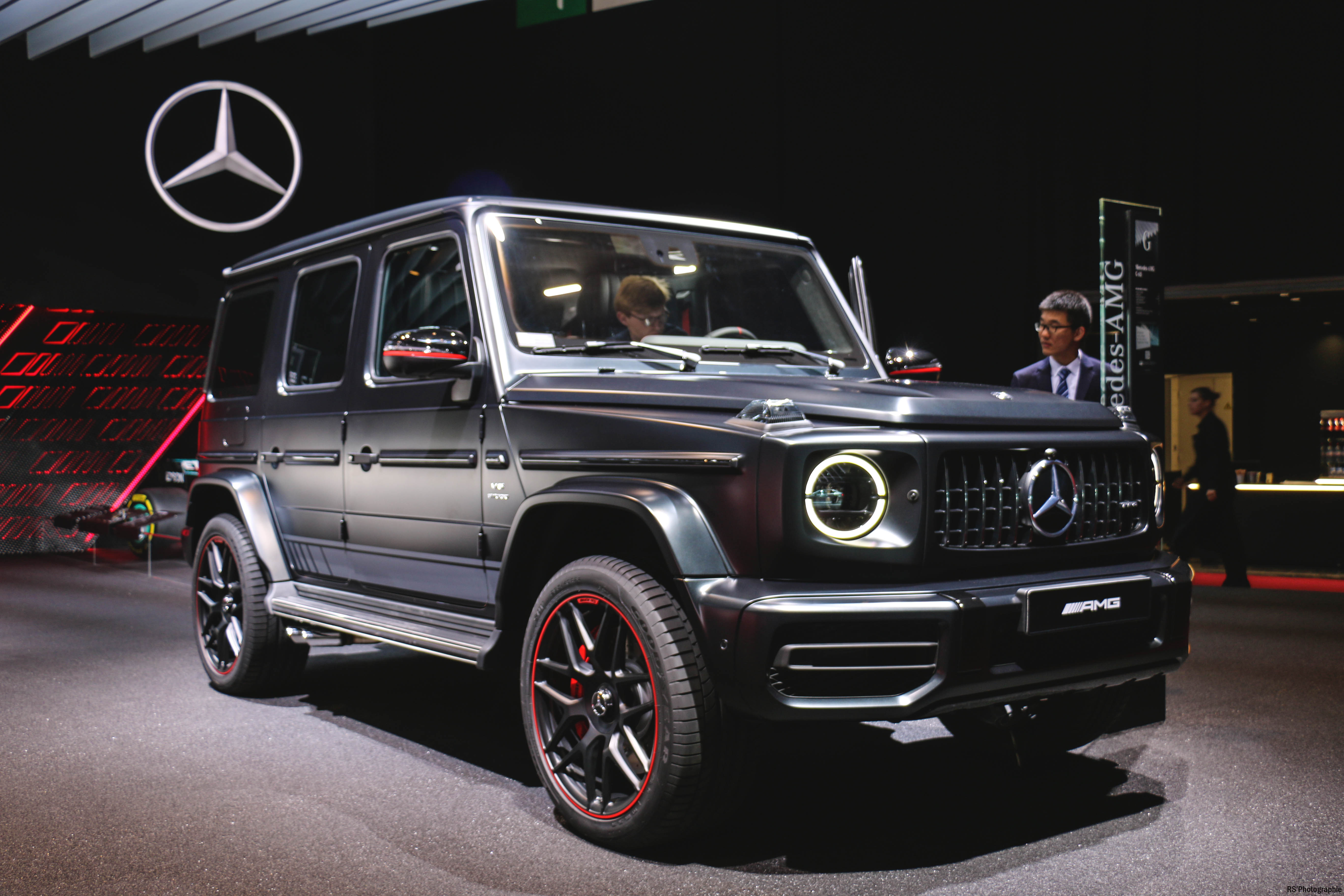 Mercedes-AMG G63 Edition 1 - Paris Motor Show - 2018 - Mondial Auto - photo by Arnaud Demasier RS Photographie