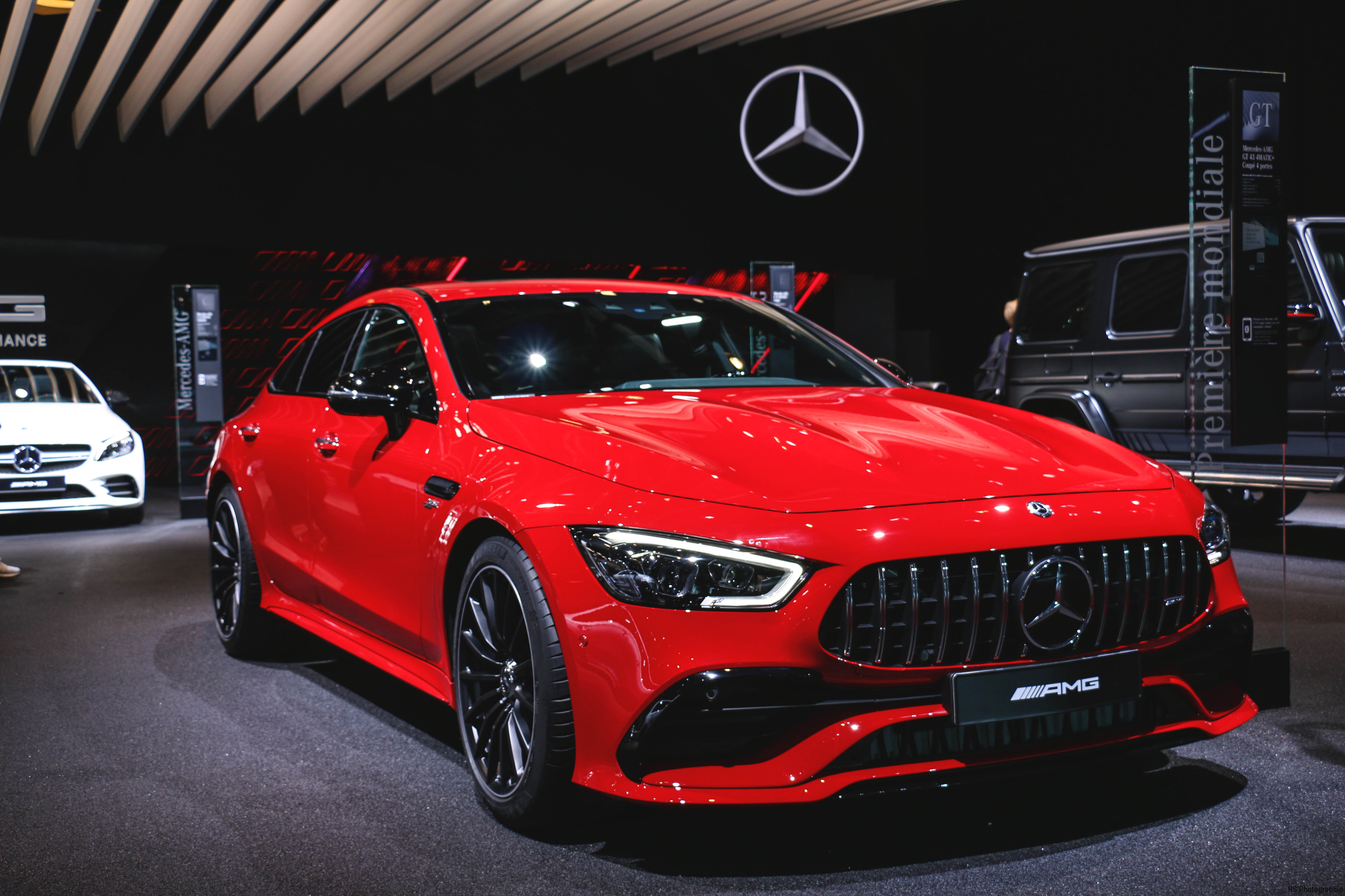 Mercedes-AMG GT 4Door Coupe - Paris Motor Show - 2018 - Mondial Auto - photo by Arnaud Demasier RS Photographie