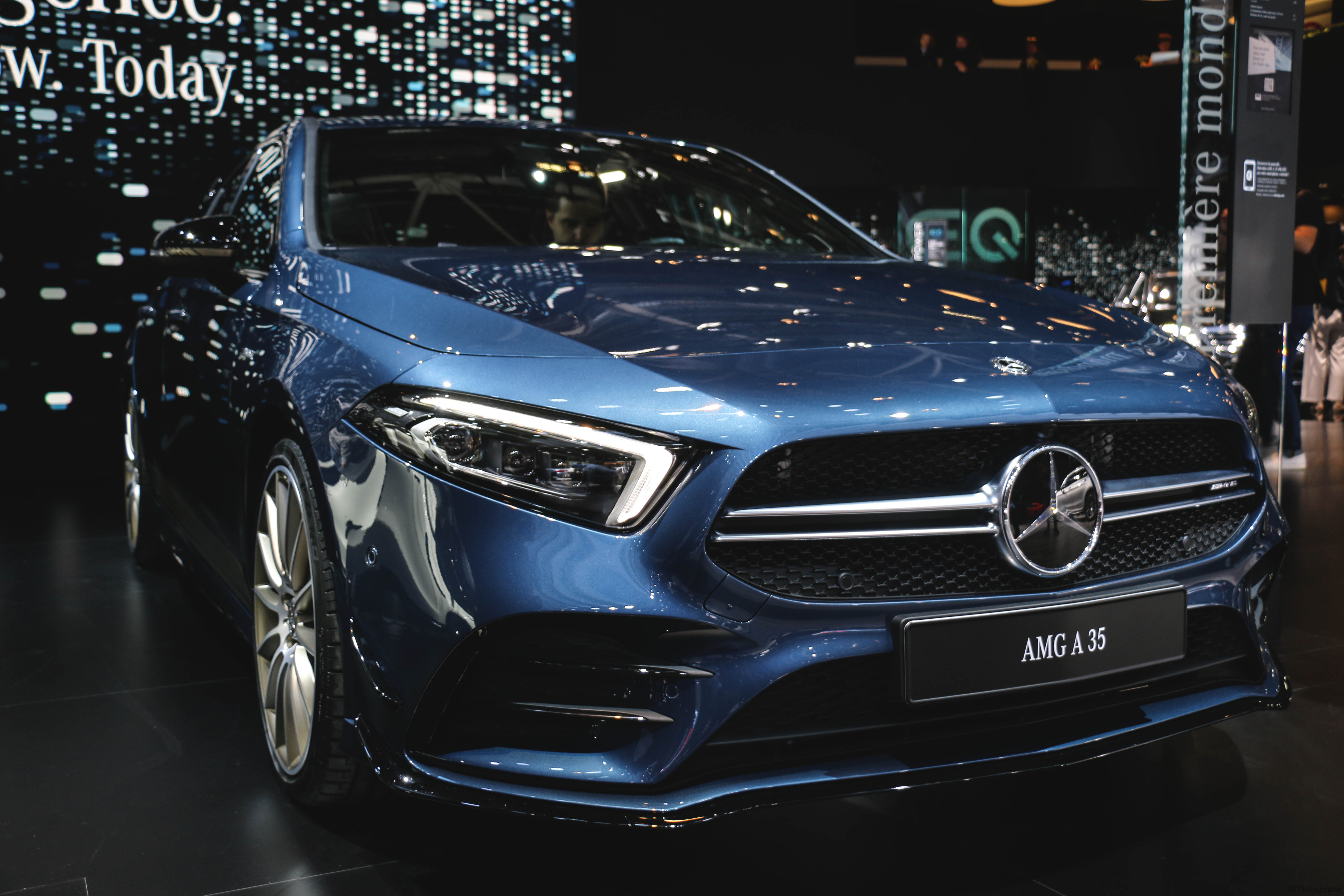 Mercedes-AMG A35 - front - Paris Motor Show - 2018 - Mondial Auto - photo by Arnaud Demasier RS Photographie