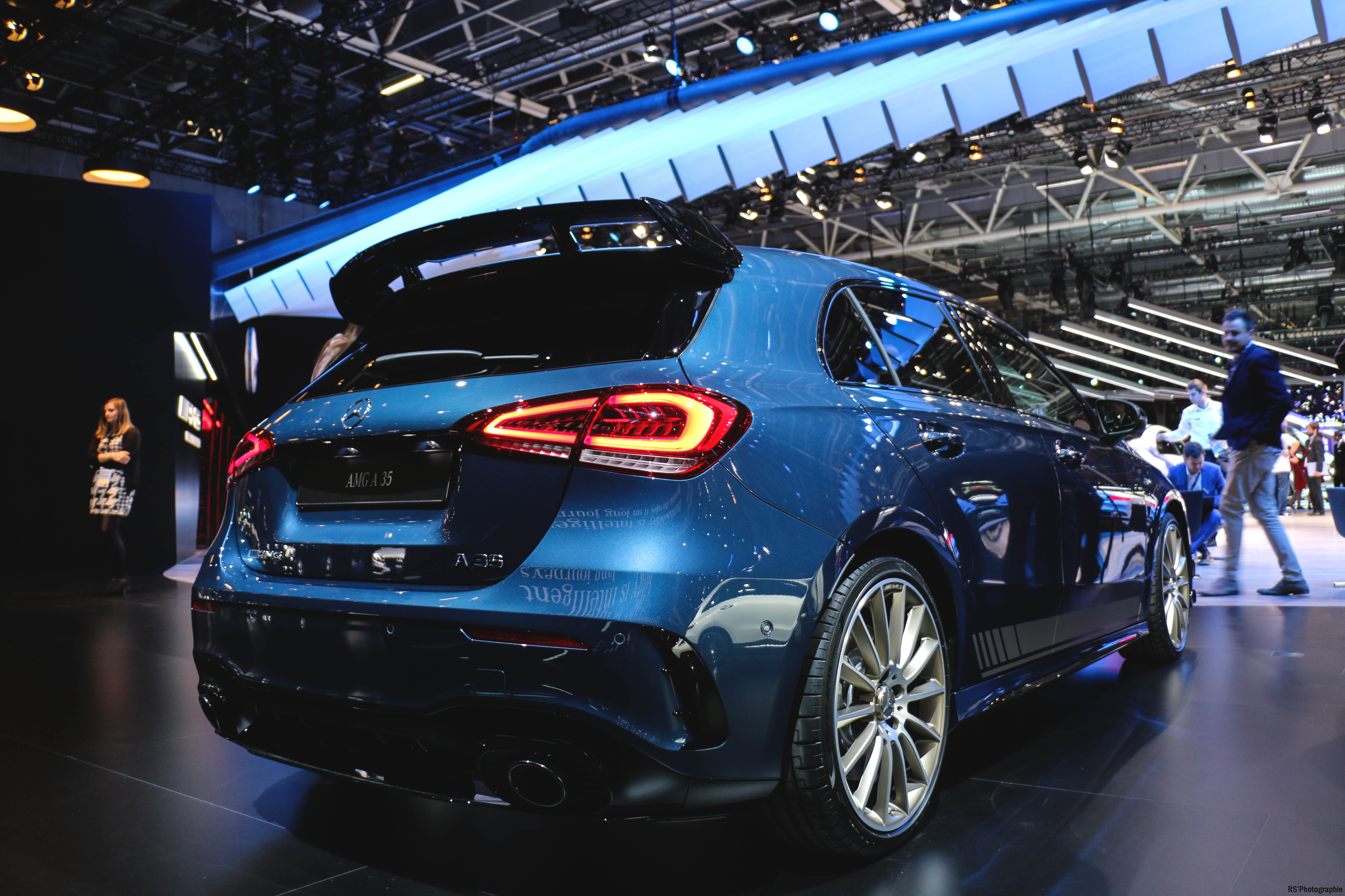 Mercedes-AMG A35 - rear - Paris Motor Show - 2018 - Mondial Auto - photo by Arnaud Demasier RS Photographie