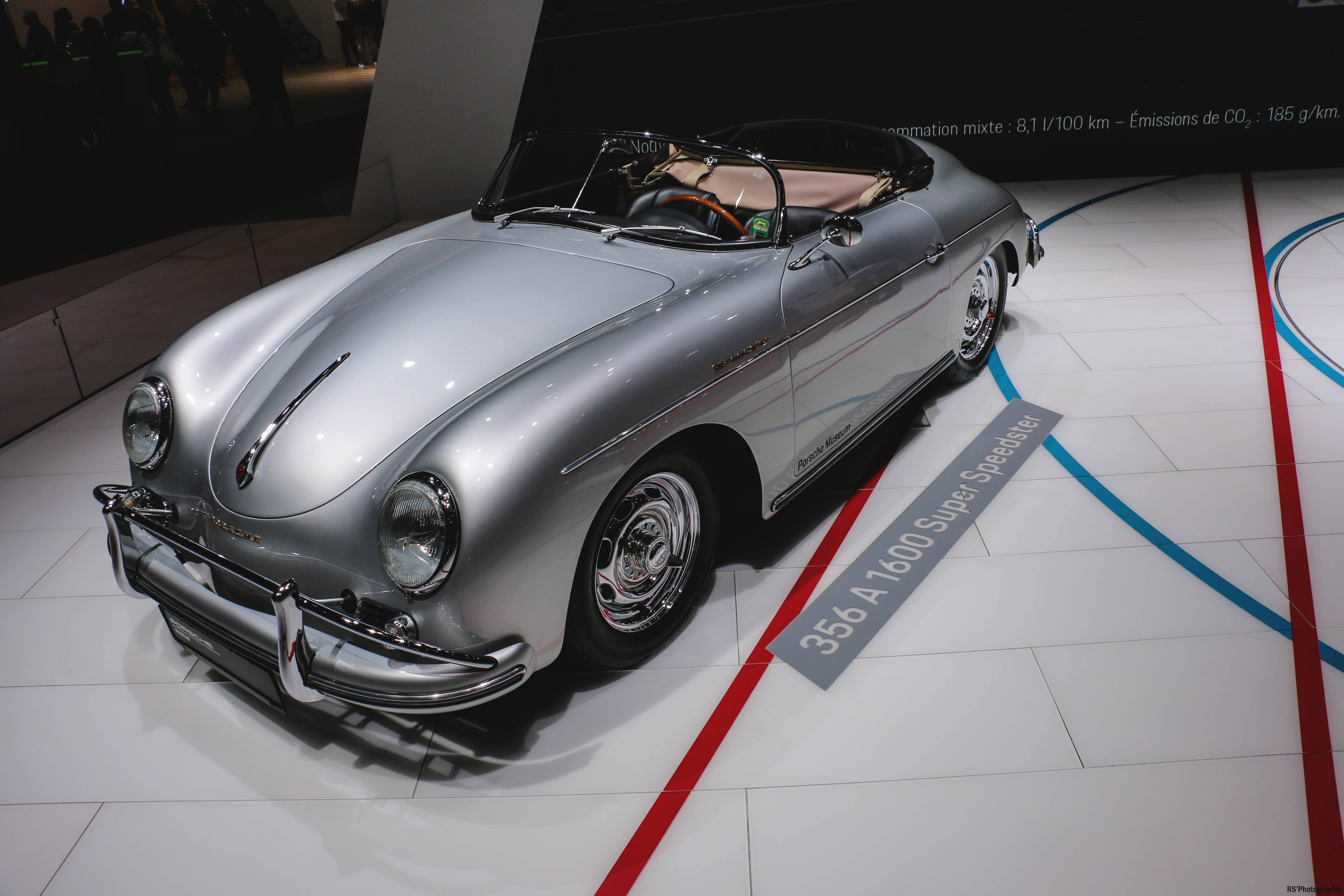 Porsche 356 A1600 Super Speedster - Paris Motor Show - 2018 - Mondial Auto - photo by Arnaud Demasier RS Photographie