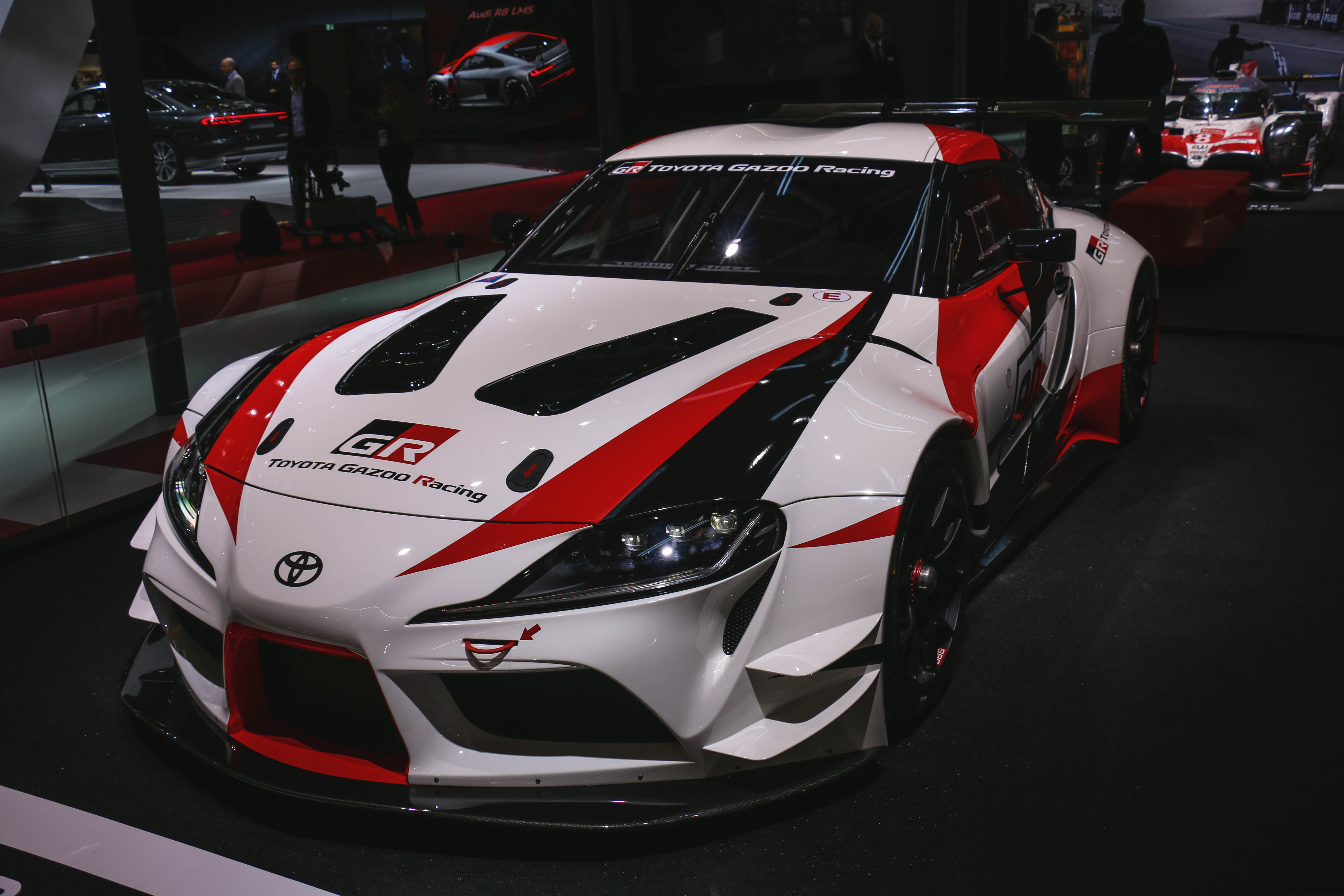 Toyota GR Supra Racing Concept - Paris Motor Show - 2018 - Mondial Auto - photo by Arnaud Demasier RS Photographie