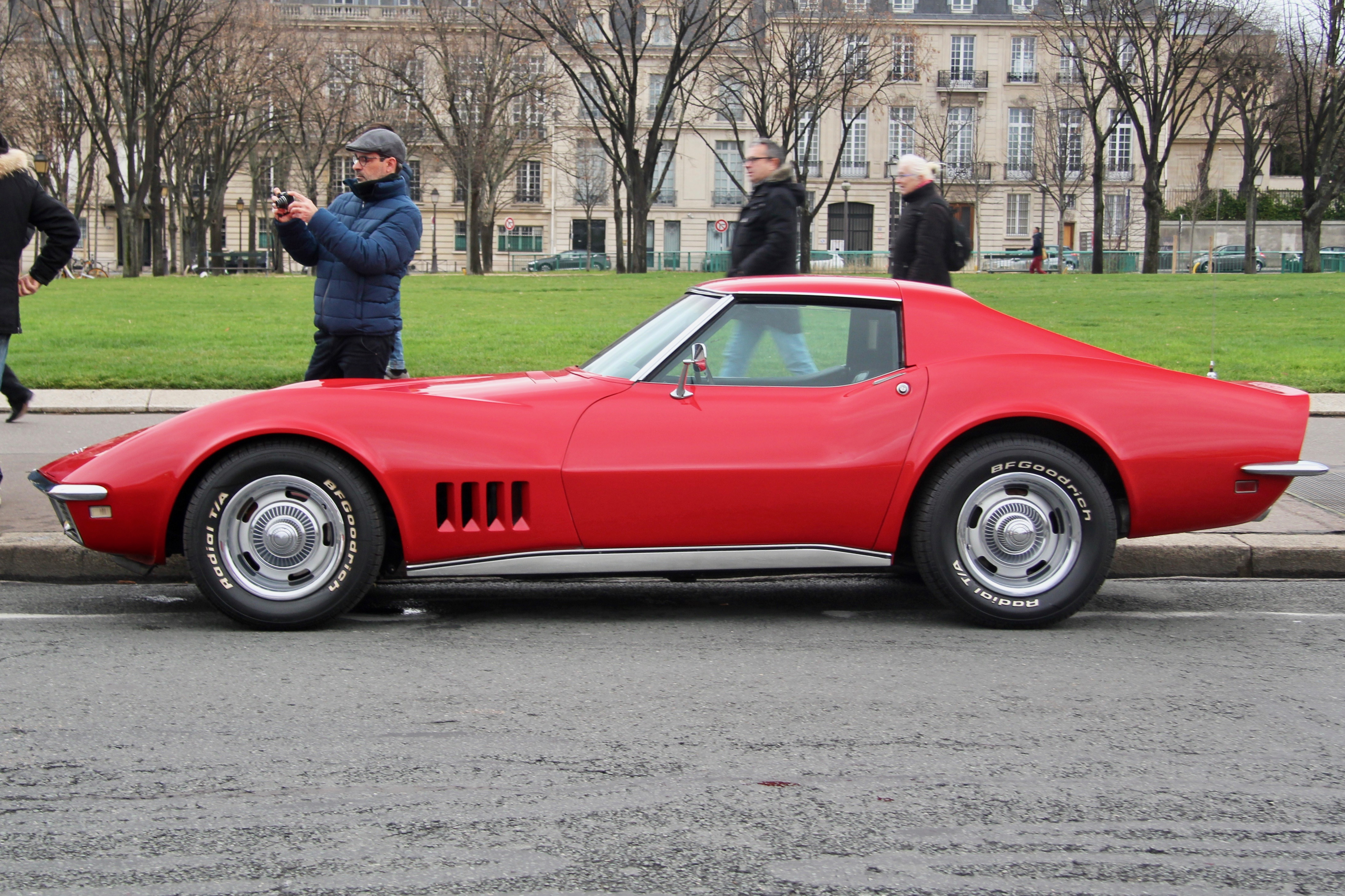 Chevrolet Corvette C3 Stingray - Traversée de Paris Hivernale 2019 - photo Ludo Ferrari