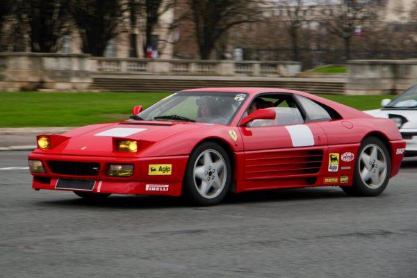 Ferrari 348 Challenge - Traversée de Paris Hivernale 2019 - photo Ludo Ferrari
