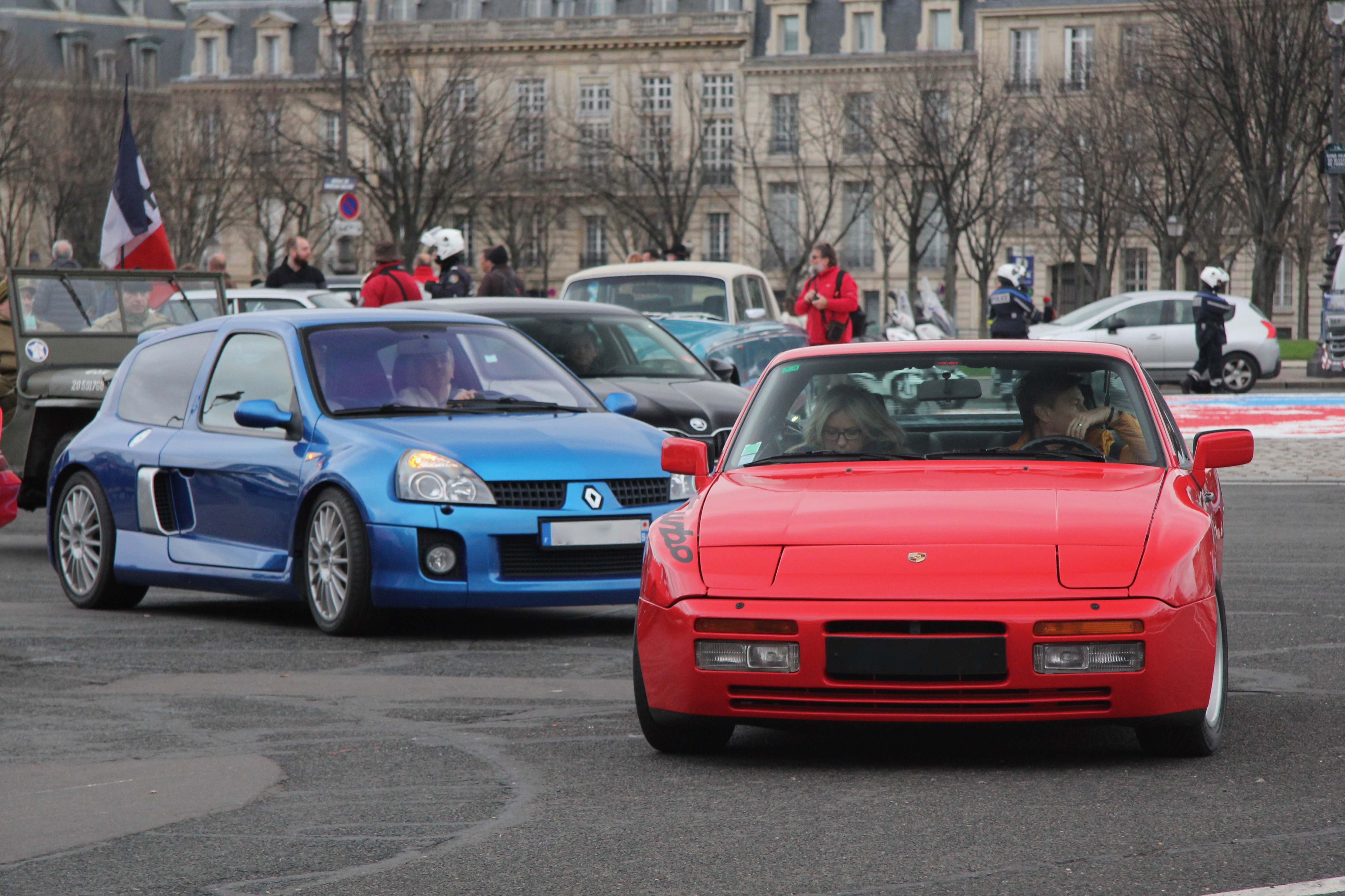 Porsche 944 Turbo - Traversée de Paris Hivernale 2019 - photo Ludo Ferrari