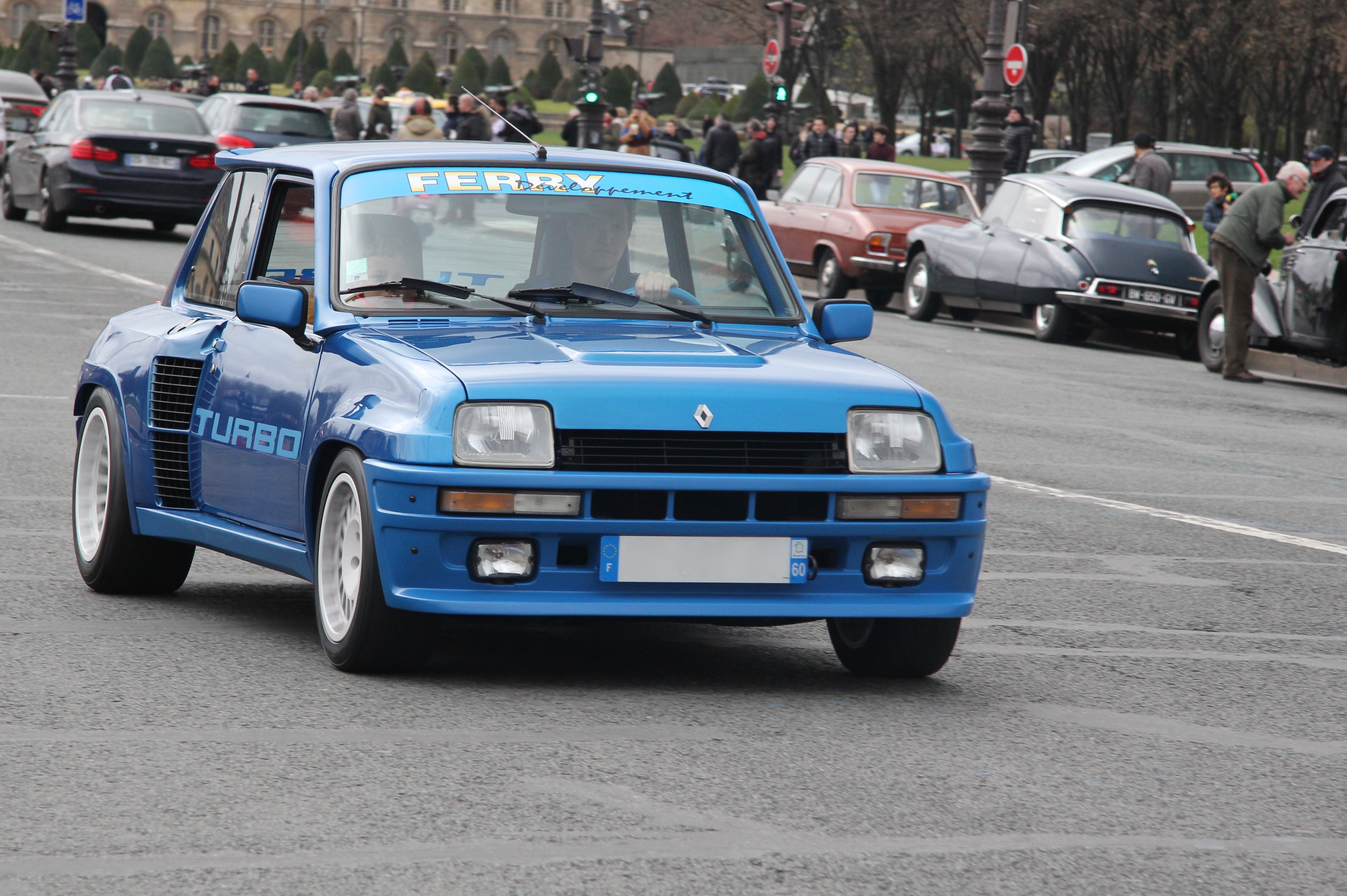 Renault 5 Turbo - Traversée de Paris Hivernale 2019 - photo Ludo Ferrari
