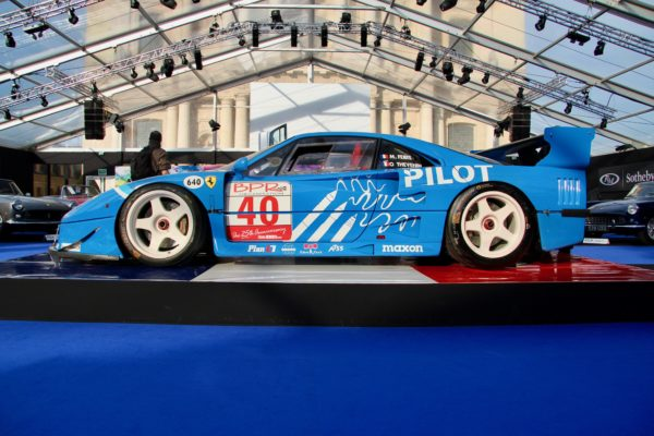 Ferrari F40 LM - RM Sotheby's - Paris - 2019 - photo Ludo Ferrari
