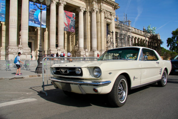 Ford Mustang - Traversée de Paris Estivale 2019 - photo Ludo Ferrari