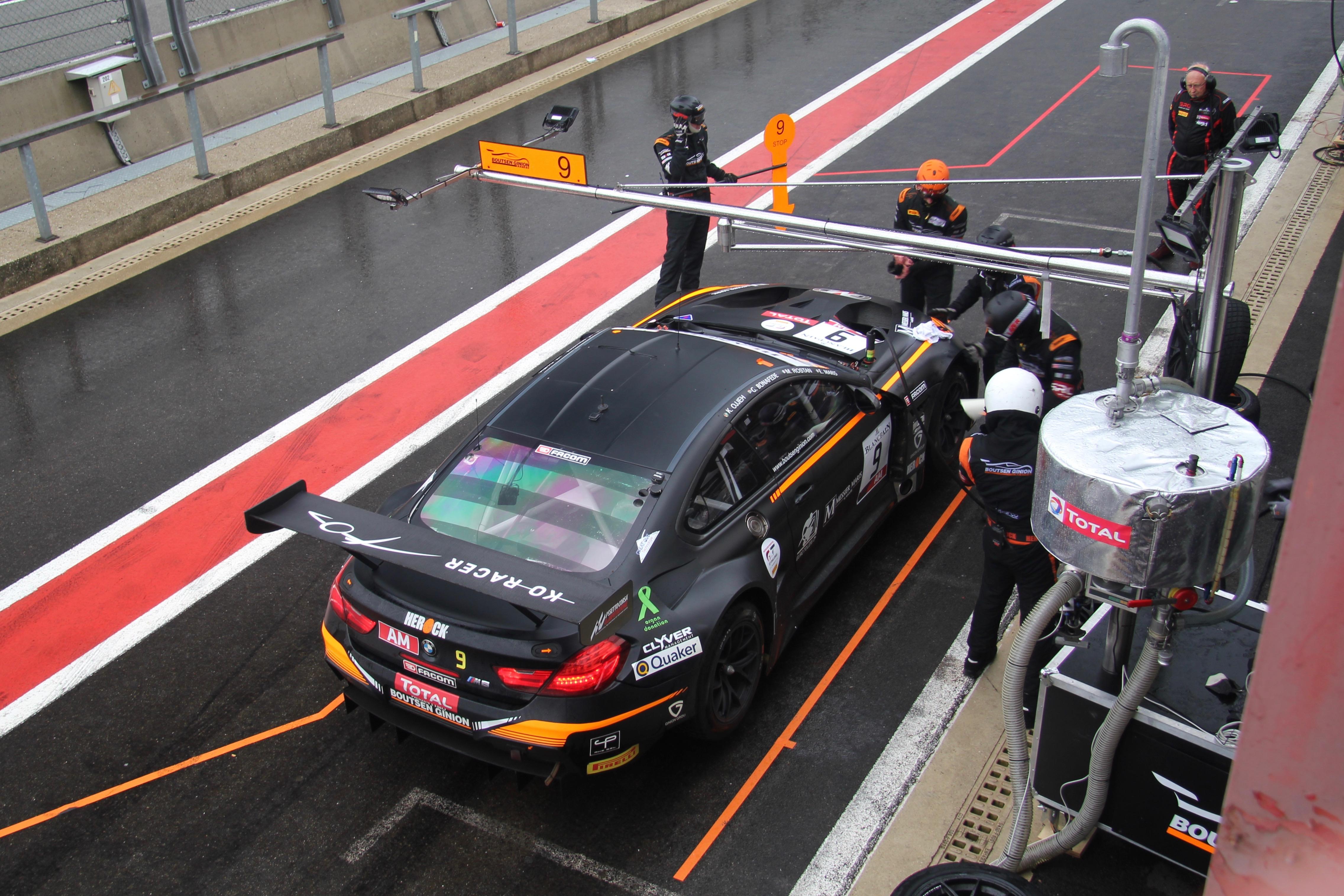 BMW M6 GT3 - n9 - Total 24 Heures de Spa 2019 - photo Ludo Ferrari