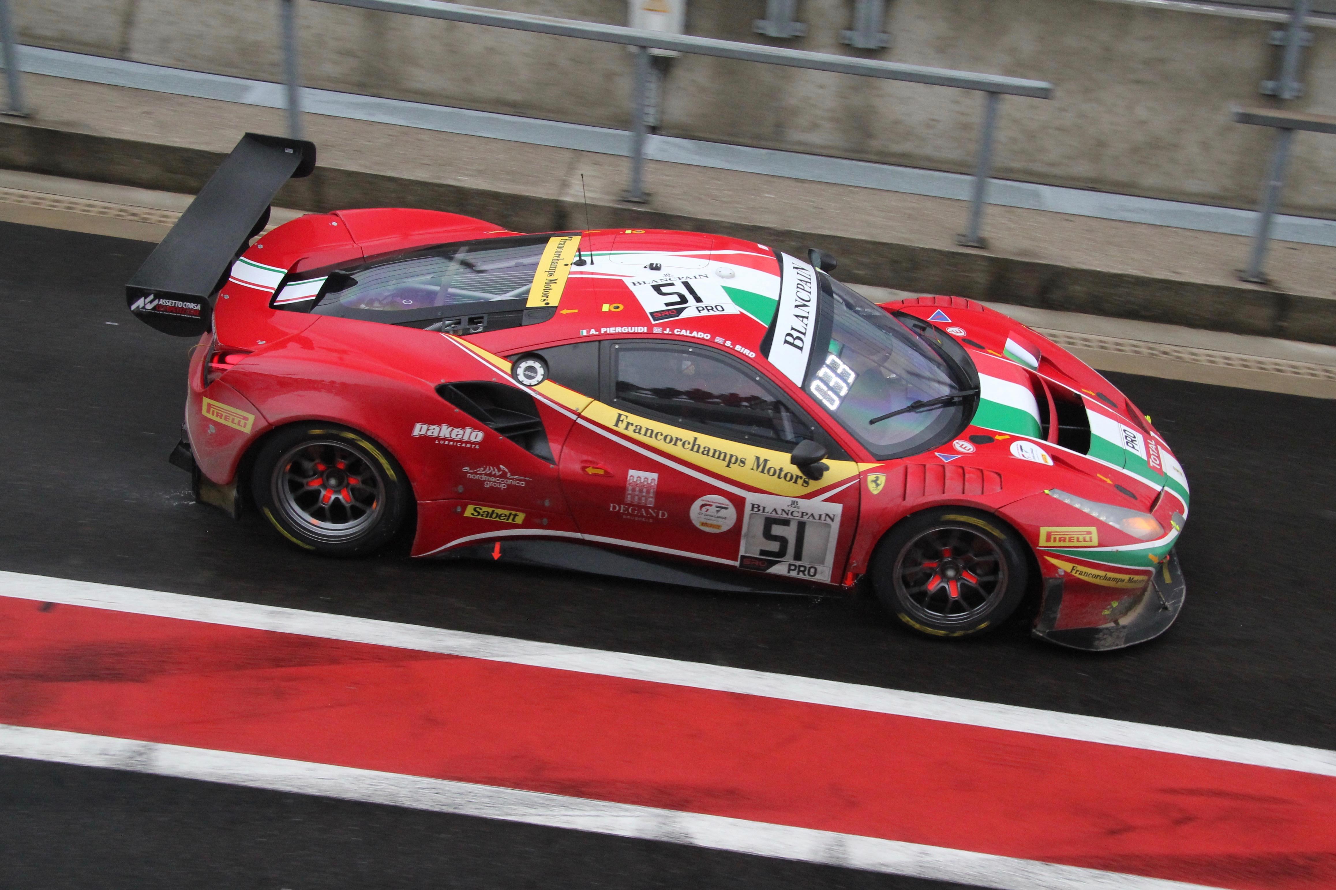Ferrari 488 GT3 - n33 - Total 24 Heures de Spa 2019 - photo Ludo Ferrari