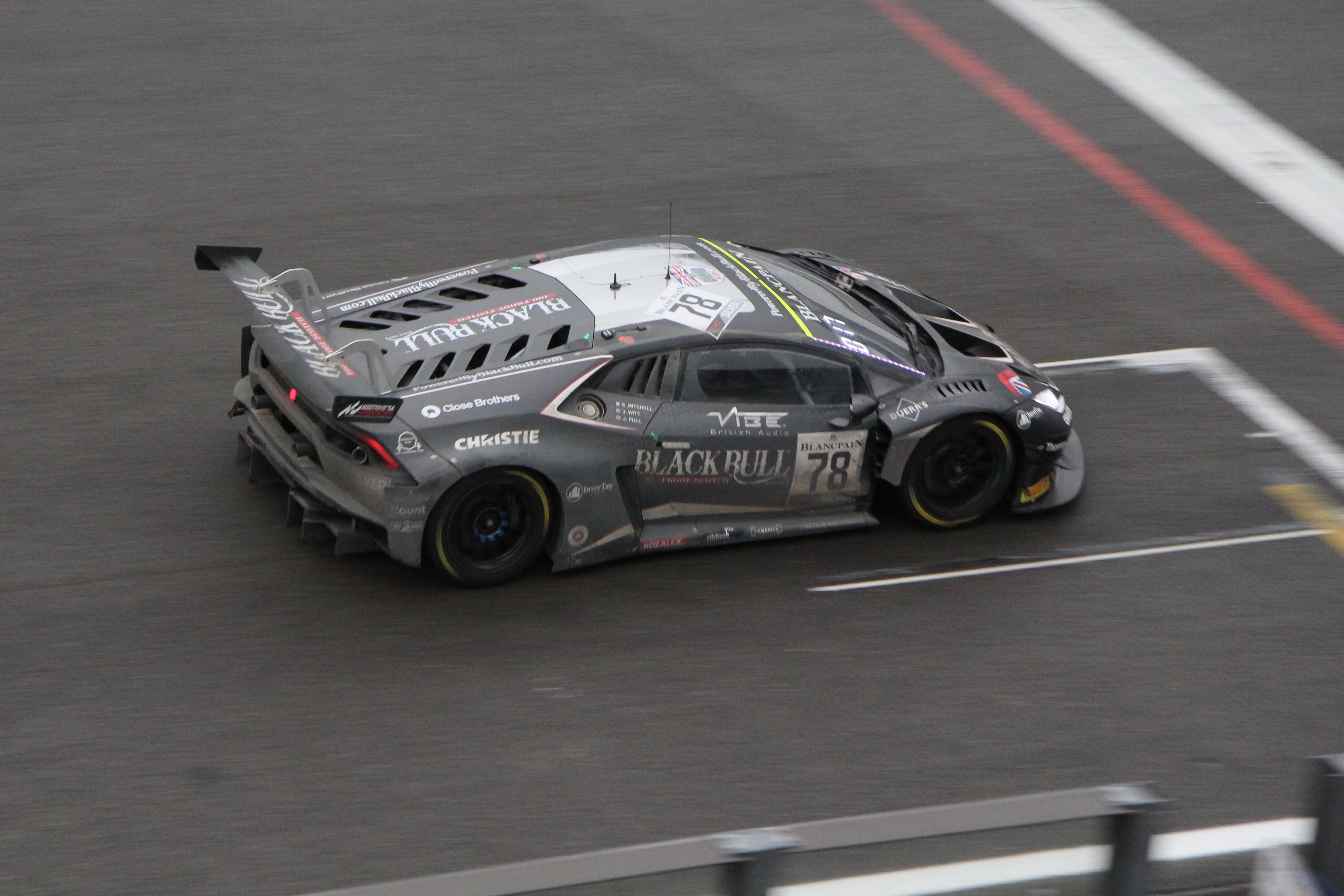 Lamborghini Huracan GT3 - n78 - Total 24 Heures de Spa 2019 - photo Ludo Ferrari