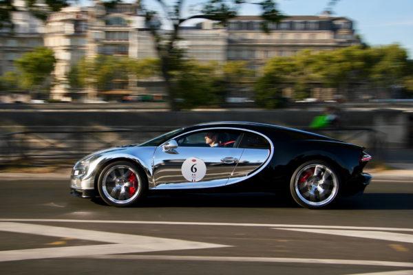 Bugatti Automobiles - mirror livery side-face speed - Grand Tour 2019 - Paris - photo Ludo Ferrari