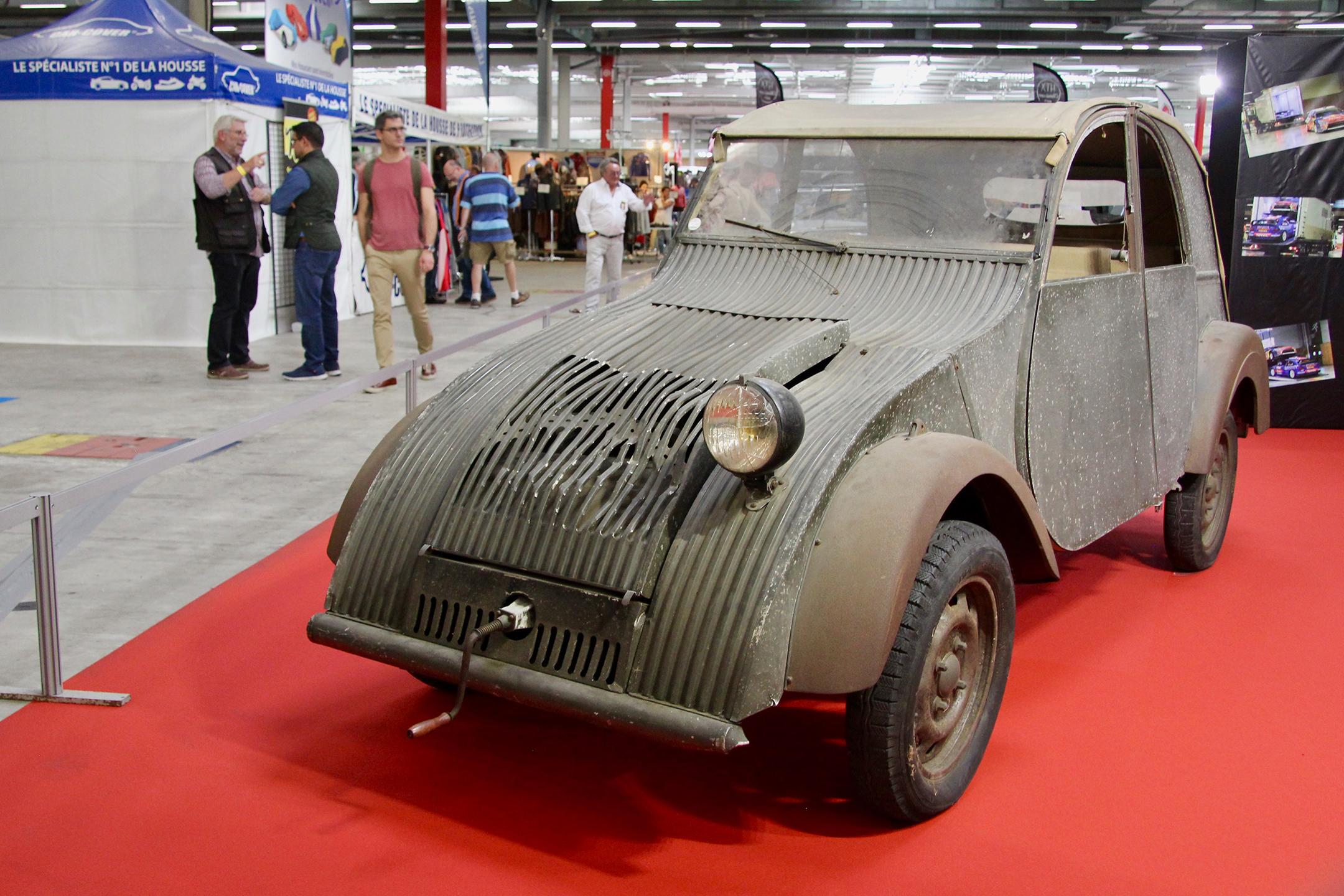 Citroën 2CV Prototype - exposition - Automédon - 2019 - photo Ludo Ferrari