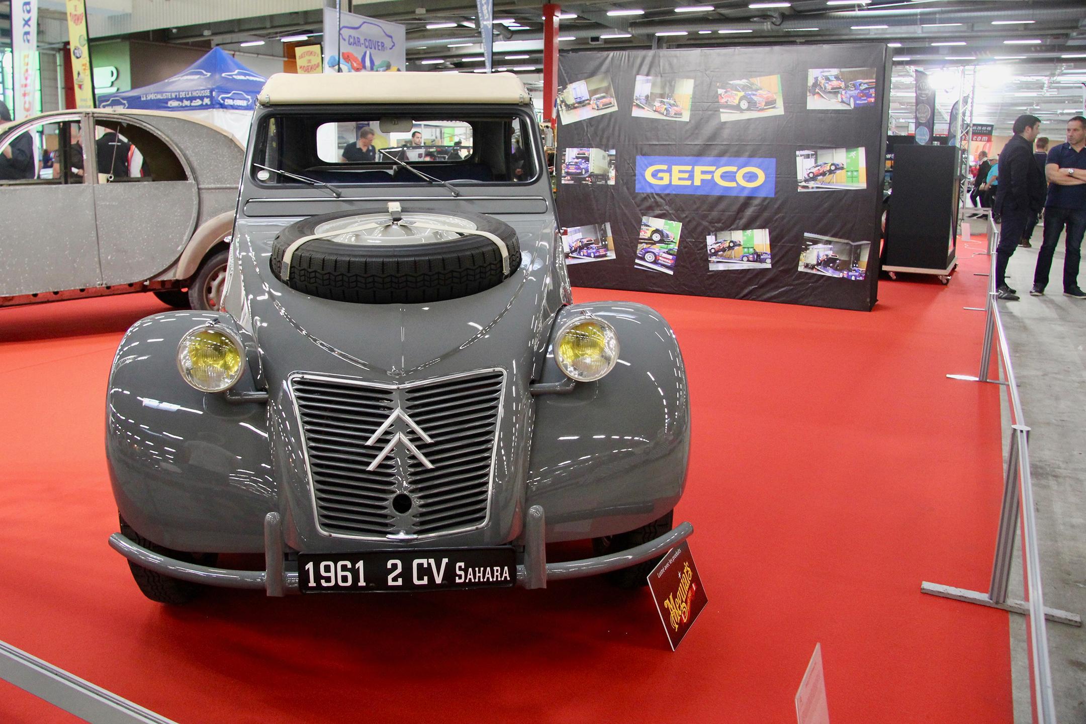 Citroën 2CV Sahara - exposition - Automédon - 2019 - photo Ludo Ferrari