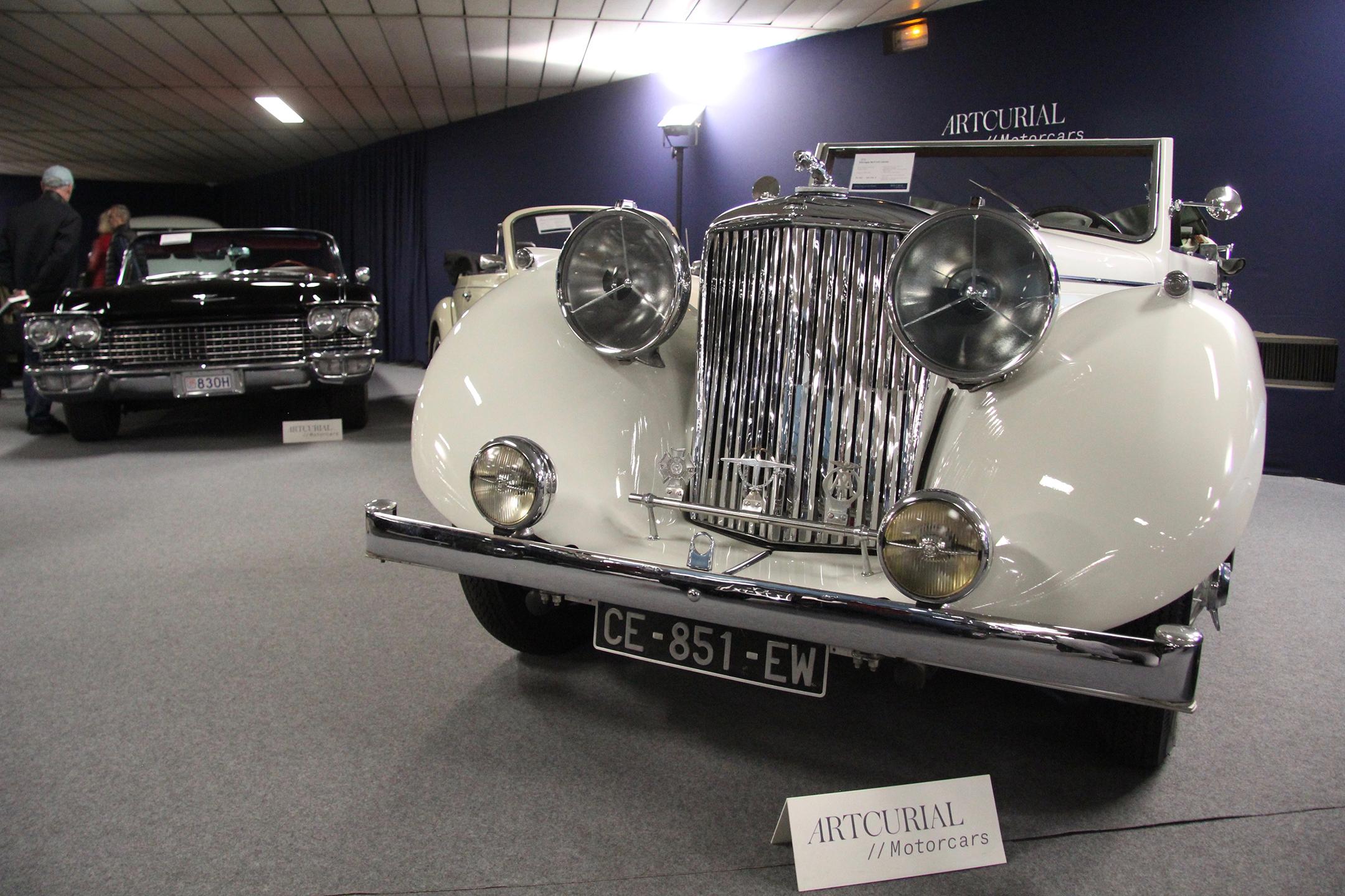 Jaguar Mk IV 3.5L Cabriolet - 1948 - Artcurial Motorcars - Automobiles sur les Champs - 2019 - photo Ludo Ferrari
