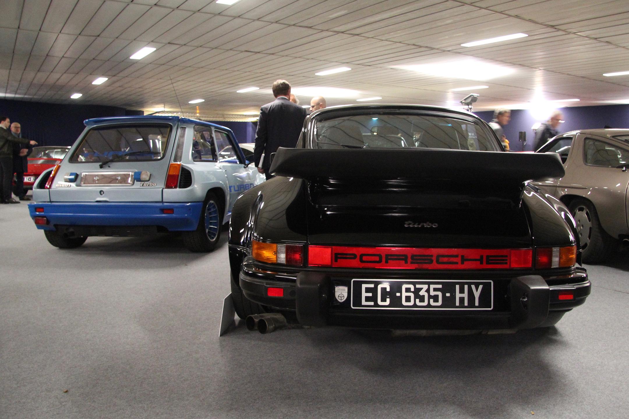 Porsche 911 Turbo 3.3L - 1986 - Artcurial Motorcars - Automobiles sur les Champs - 2019 - photo Ludo Ferrari