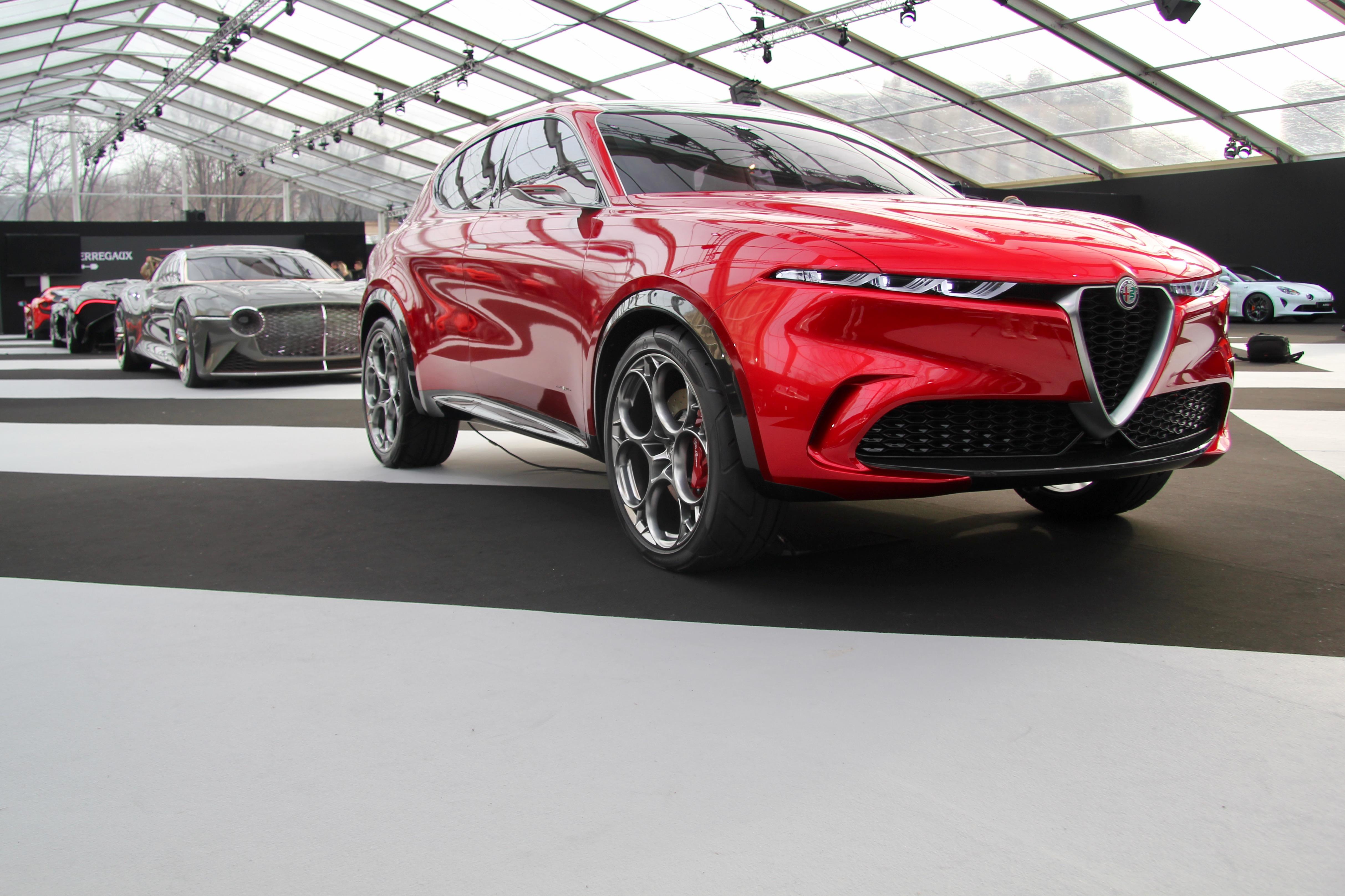 Alfa Romeo Tonale Concept - front face / face avant - Festival Automobile International - 2020 - exposition Concept Cars - Design Automobile - photo Ludo Ferrari