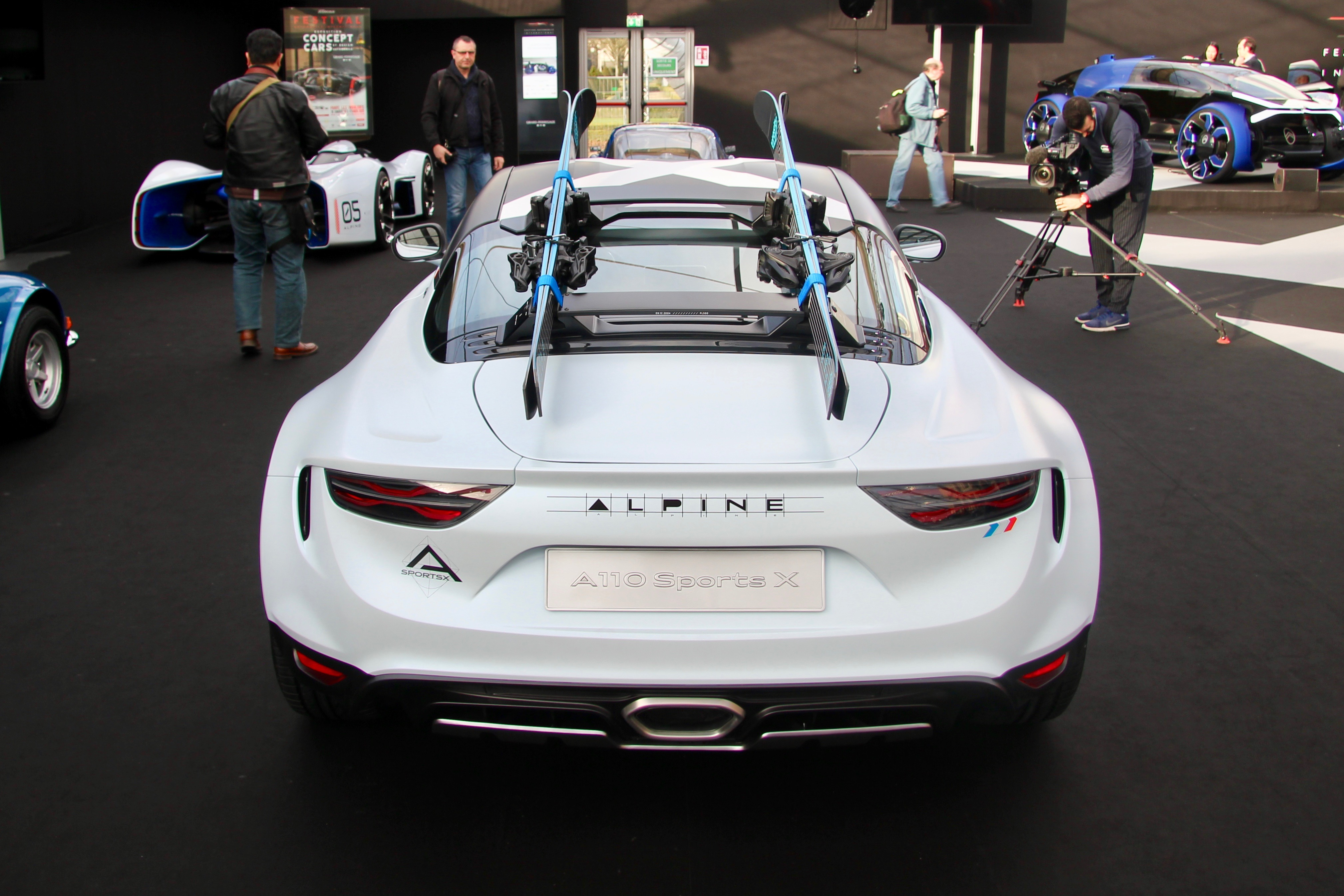 Alpine A110 SportsX - rear / arrière - Festival Automobile International - 2020 - exposition Concept Cars - Design Automobile - photo Ludo Ferrari