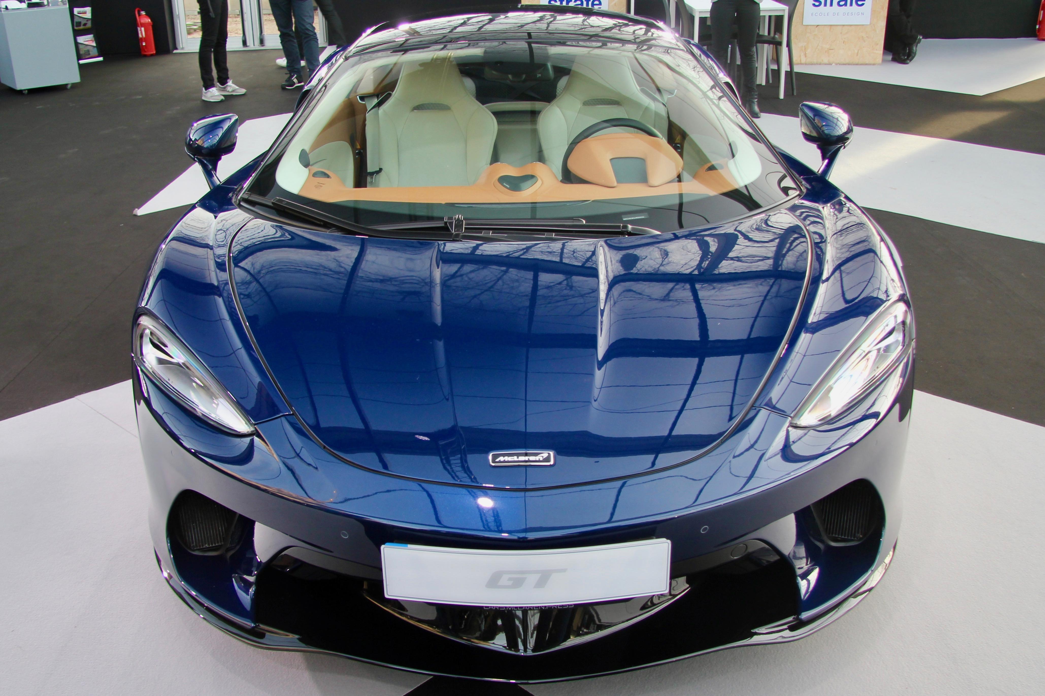 McLaren GT - front face / face avant - Festival Automobile International - 2020 - exposition Concept Cars - Design Automobile - photo Ludo Ferrari