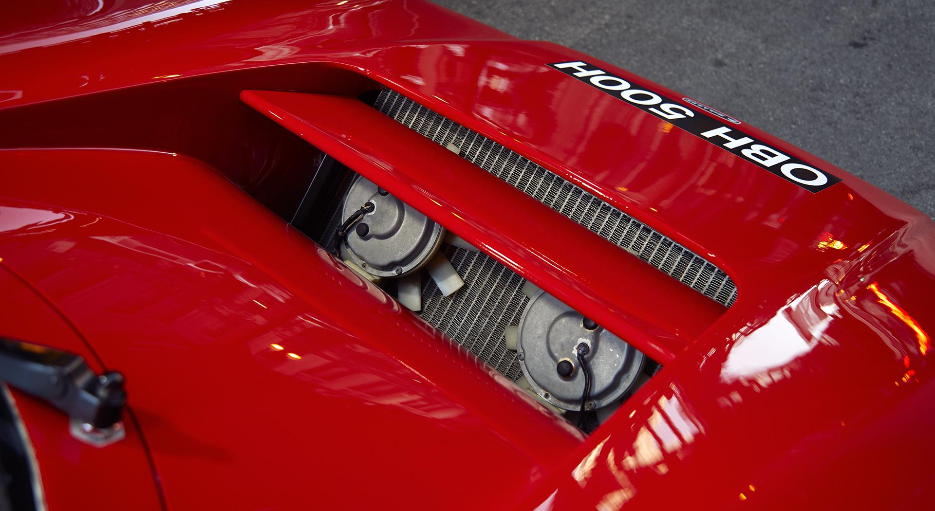 McLaren M6GT - 1968 - engine rear preview - Chevrolet V8 5.7L - 2020 - photo via McLaren Chicago
