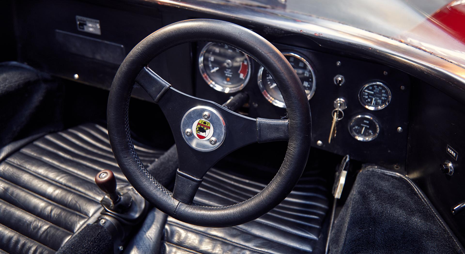 McLaren M6GT - 1968 - interior - 2020 - photo via McLaren Chicago