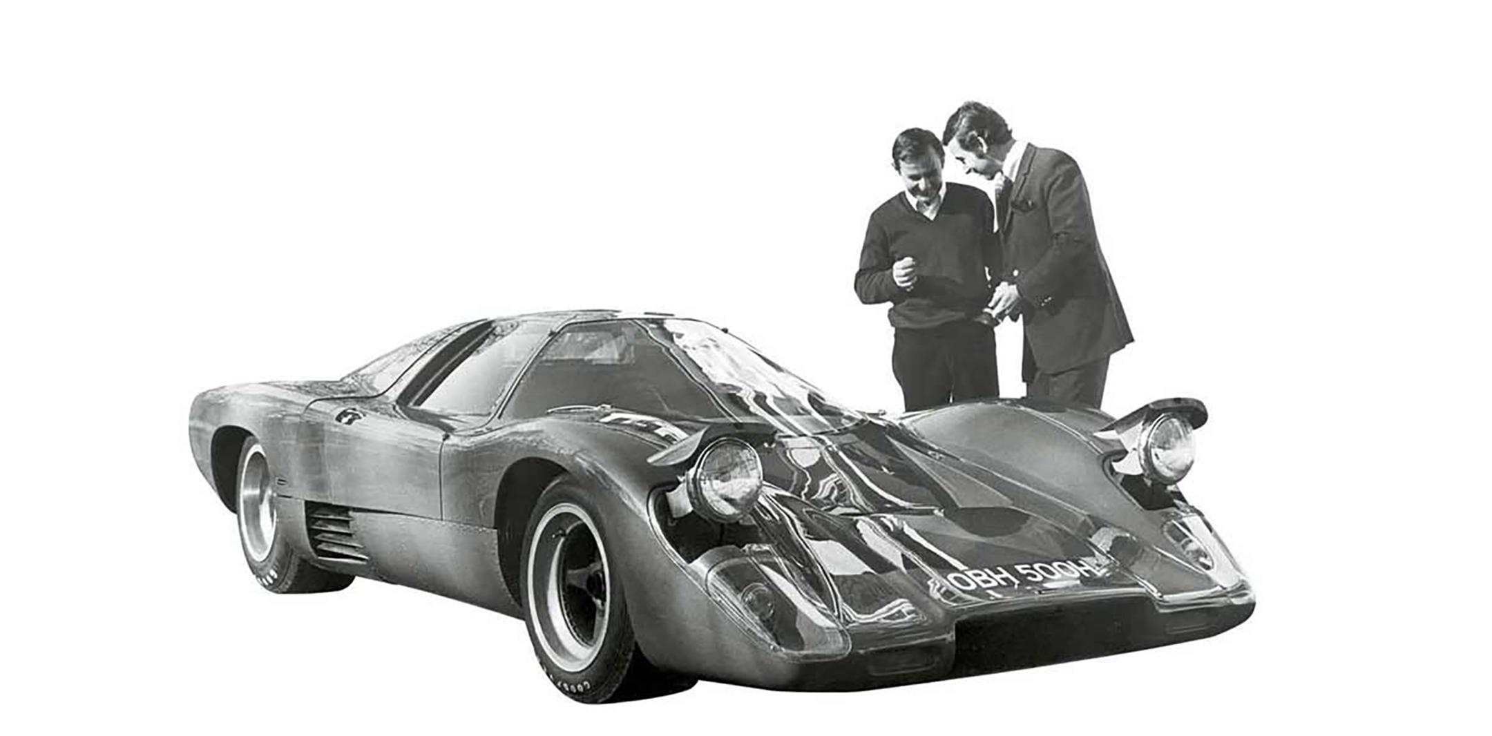 McLaren M6GT - 1968s - Bruce McLaren - photo via McLaren Automotive