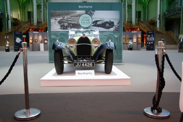 Bugatti Type55 Supersport - 1932 - Les Grandes Marques du Monde au Grand Palais - Bonhams - 2020 - photo Ludo Ferrari