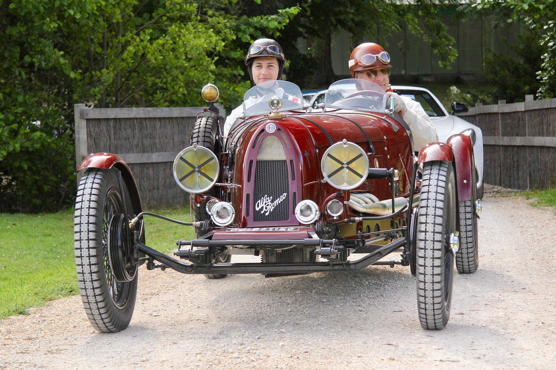 Alfa Romeo Monza Brianza 1934 - Rallye du Coeur 2020 - photo Ludo Ferrari