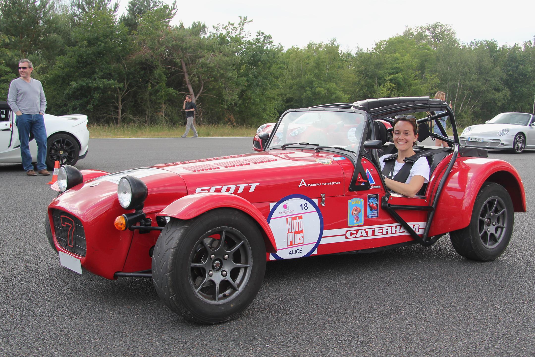 Caterham - Géraldine Gaudy (Auto Plus) - Rallye du Coeur 2020 - photo Ludo Ferrari
