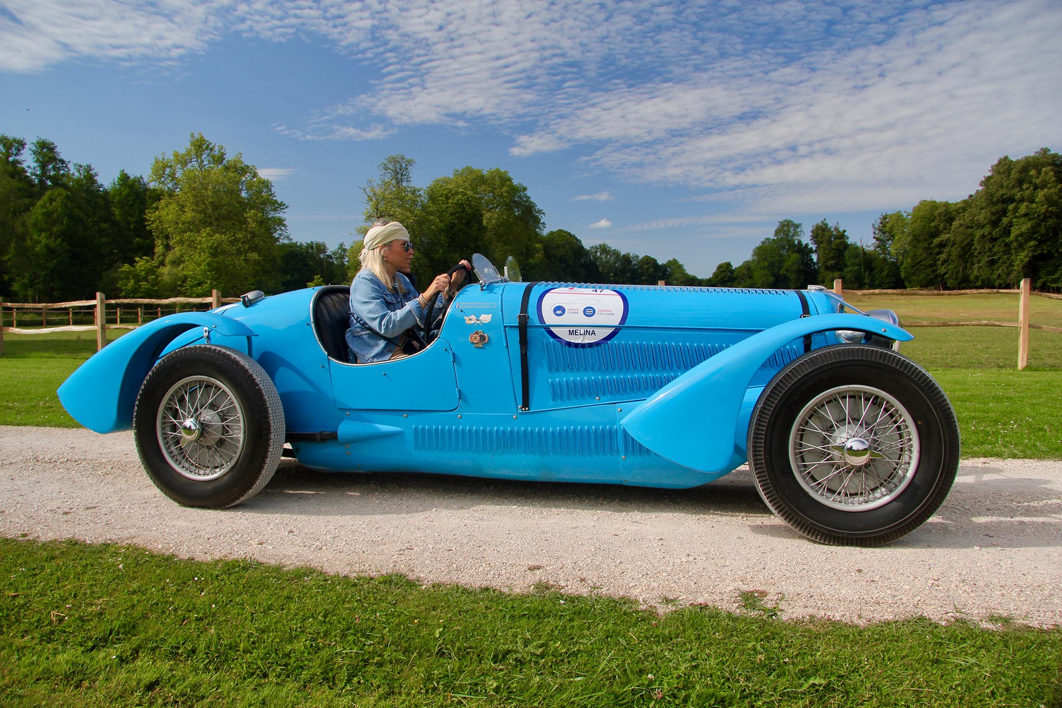 Delahaye 135 S Type Le Mans 1937 - Rallye du Coeur 2020 - photo Ludo Ferrari